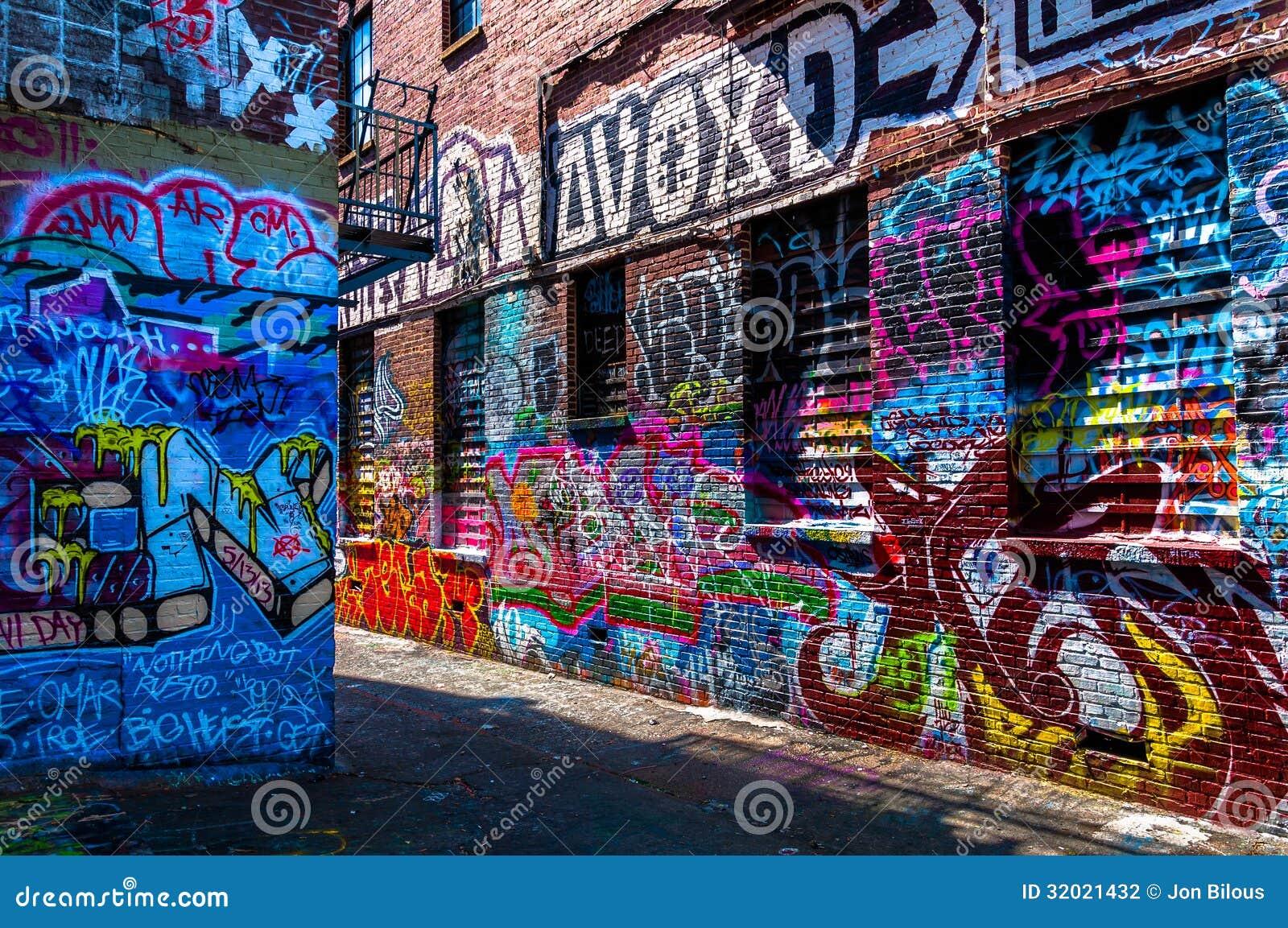 Graffiti designs for walls