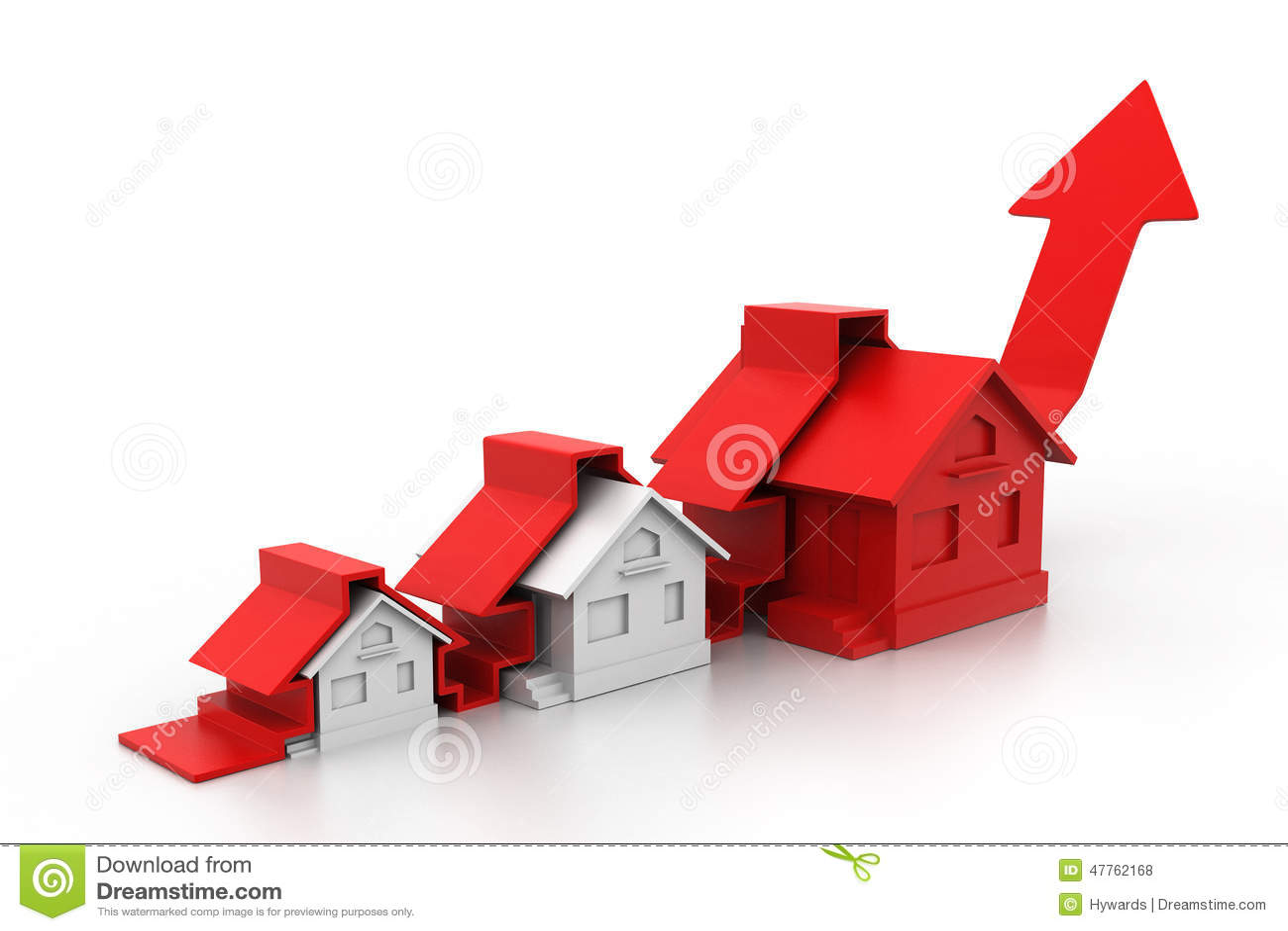 Grafico del mercato degli alloggi