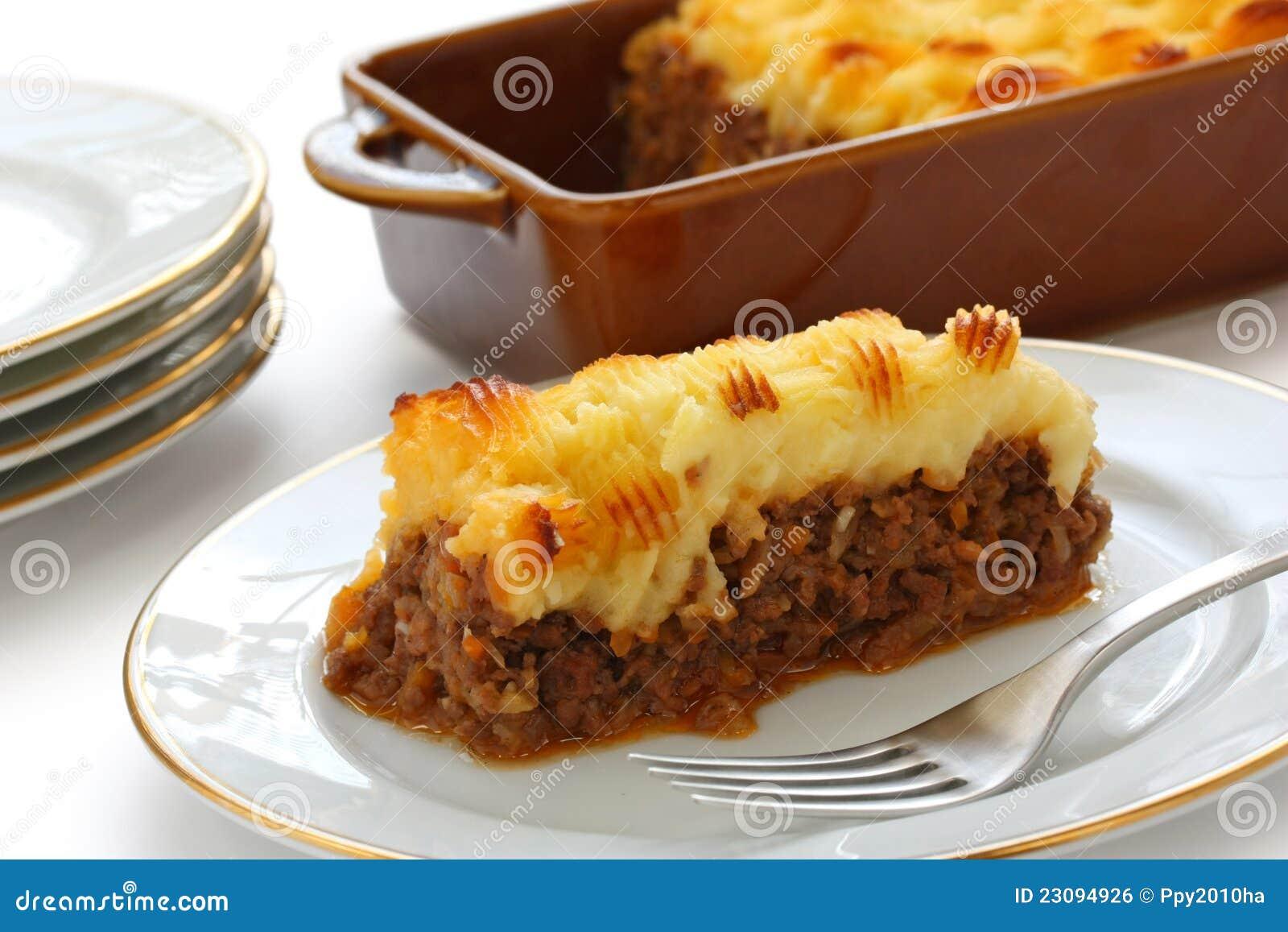 Grafico a torta del cottage, grafico a torta del pastore