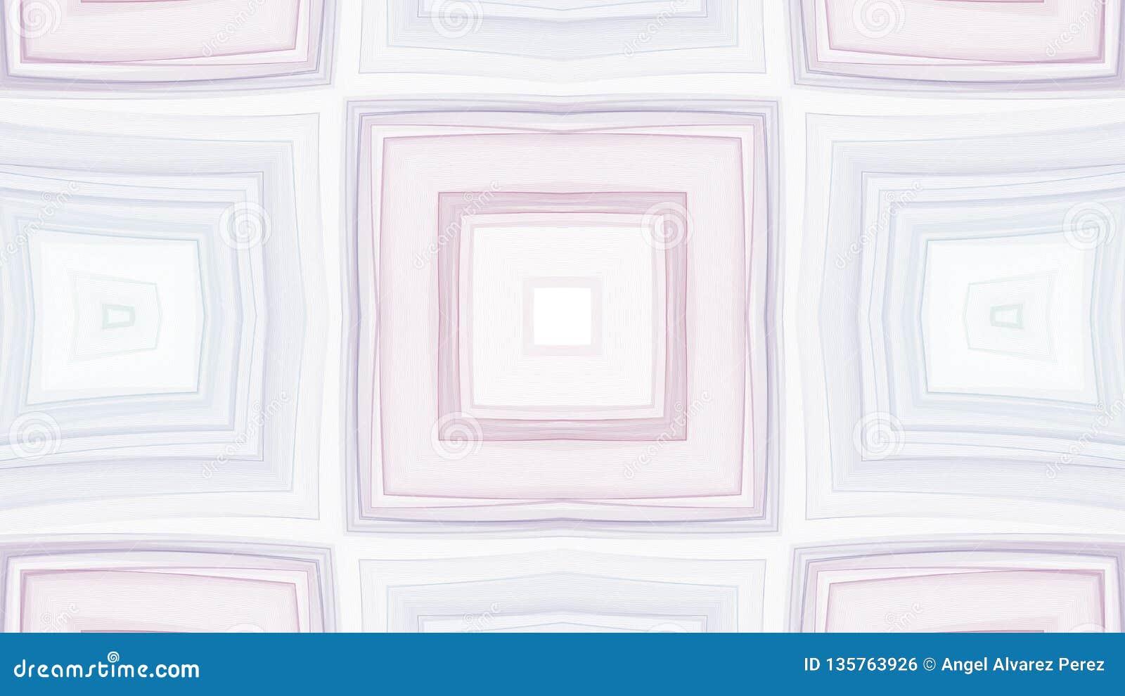 Graficzny projekt szarość i purpur kwadraty