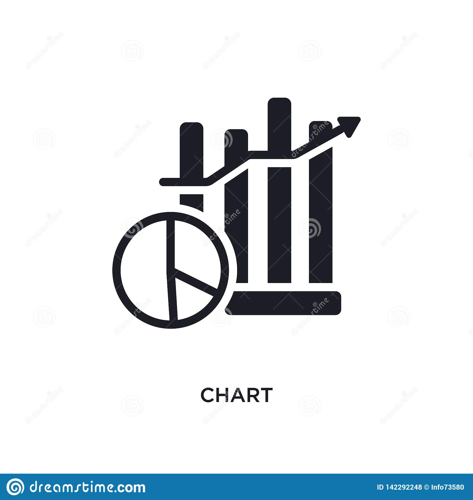 Grafiek geïsoleerd pictogram eenvoudige elementenillustratie van de slimme pictogrammen van het huisconcept ontwerp van het het t