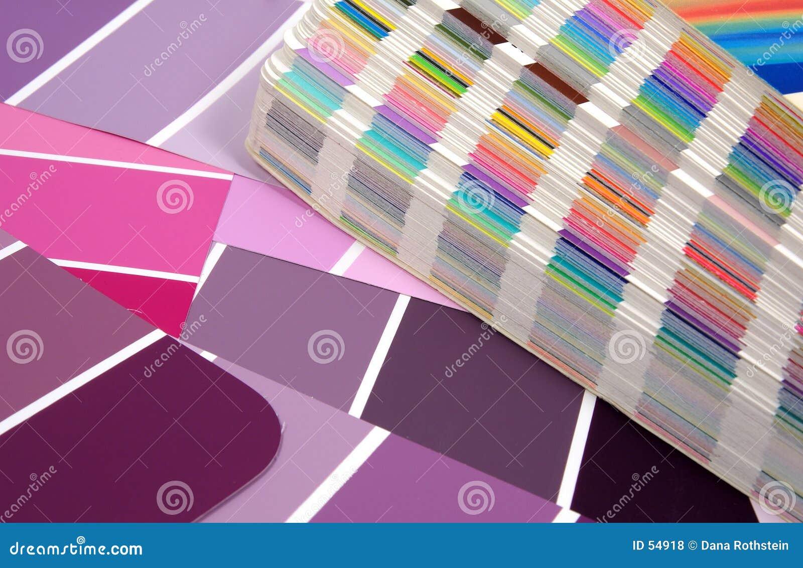 Download Grafische Auslegung stockfoto. Bild von farben, swatches - 54918