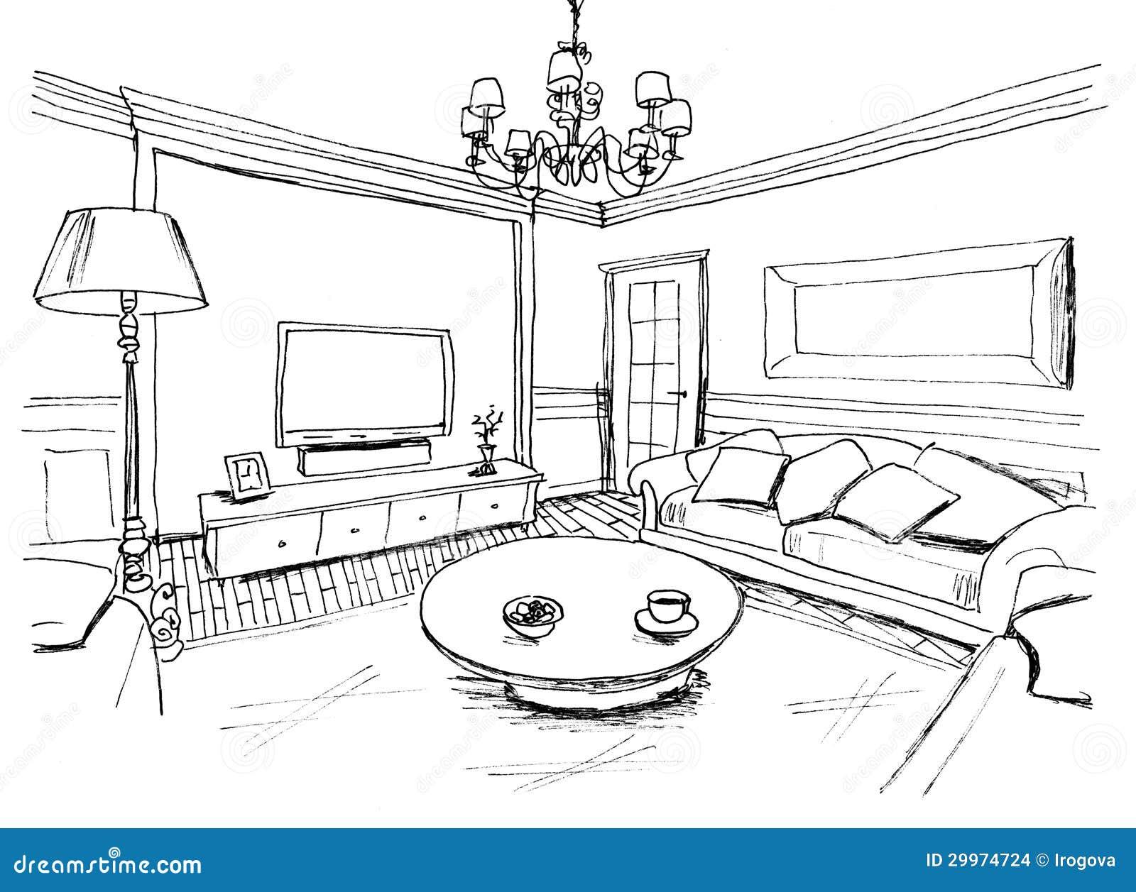 https://thumbs.dreamstime.com/z/grafische-schets-van-een-binnenlandse-woonkamer-voering-29974724.jpg