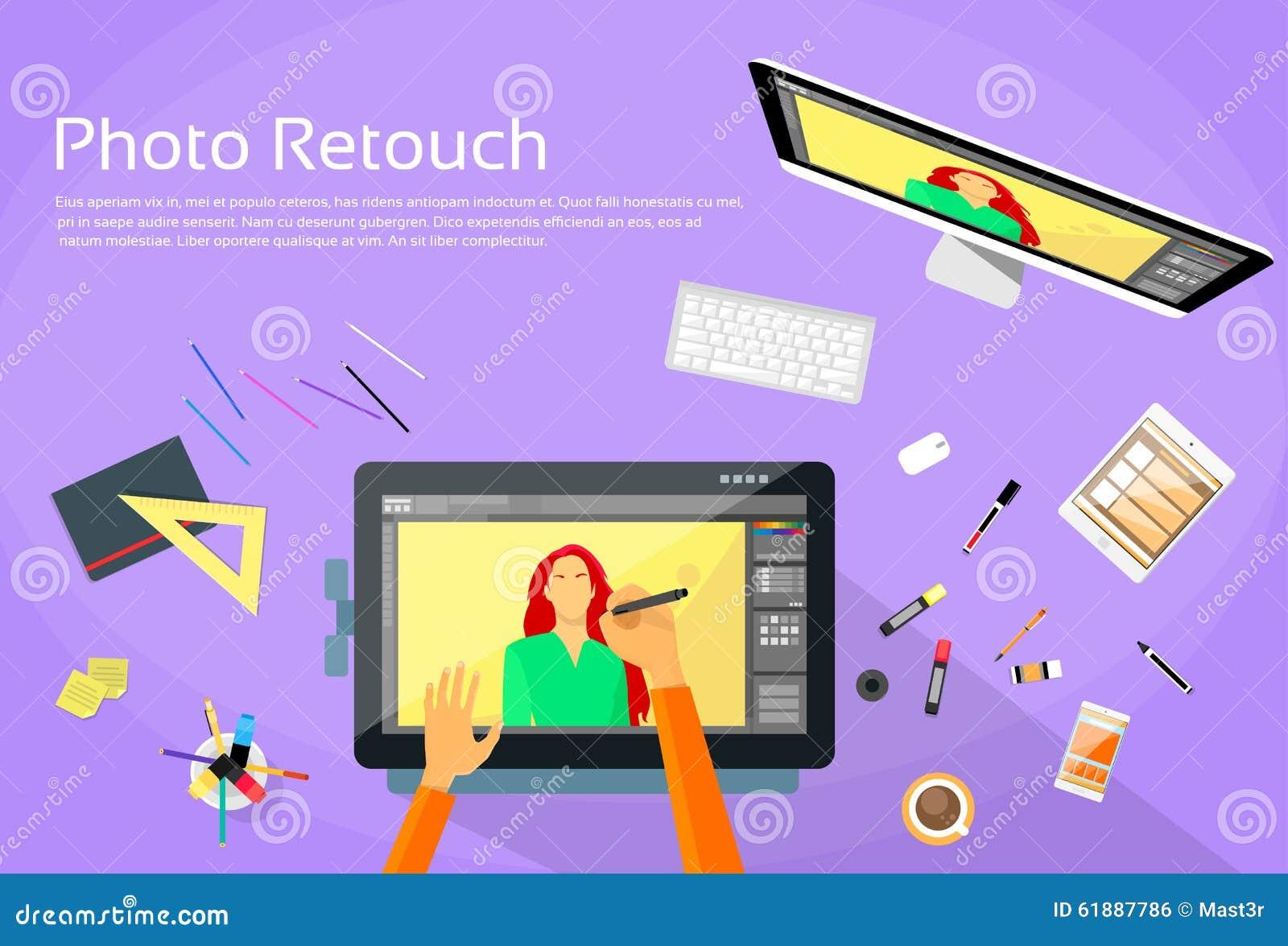 Grafisk formgivare Professional Tablet Drawing