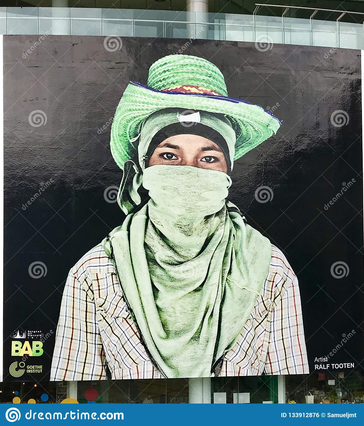 Grafitti i Bangkok, Thailand