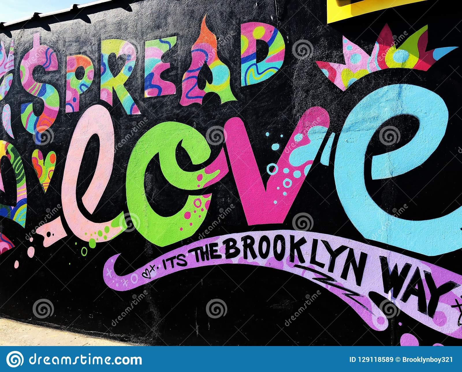 Grafitti Wall Editorial Stock Image Image Of Jewelry 129118589 Free for commercial use no attribution required high quality images. https www dreamstime com grafitti wall colorful graffiti street art painting brooklyn new york image129118589