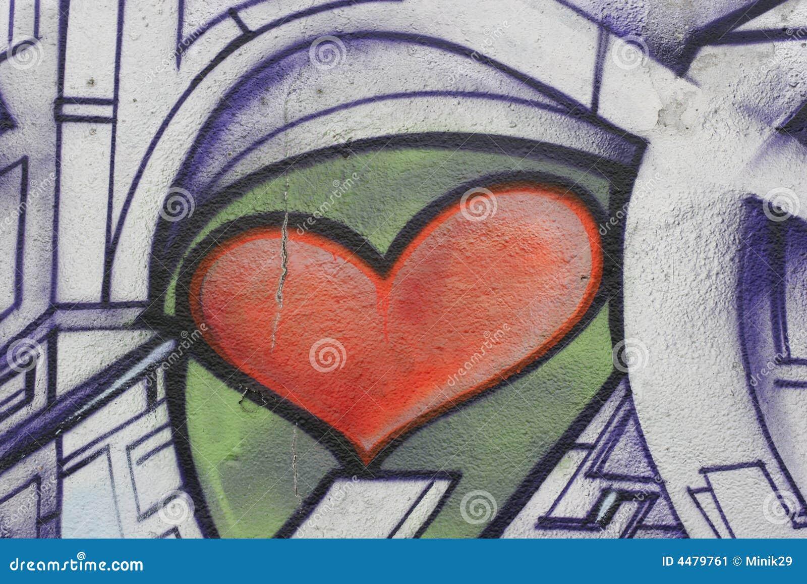 Grafittihjärta