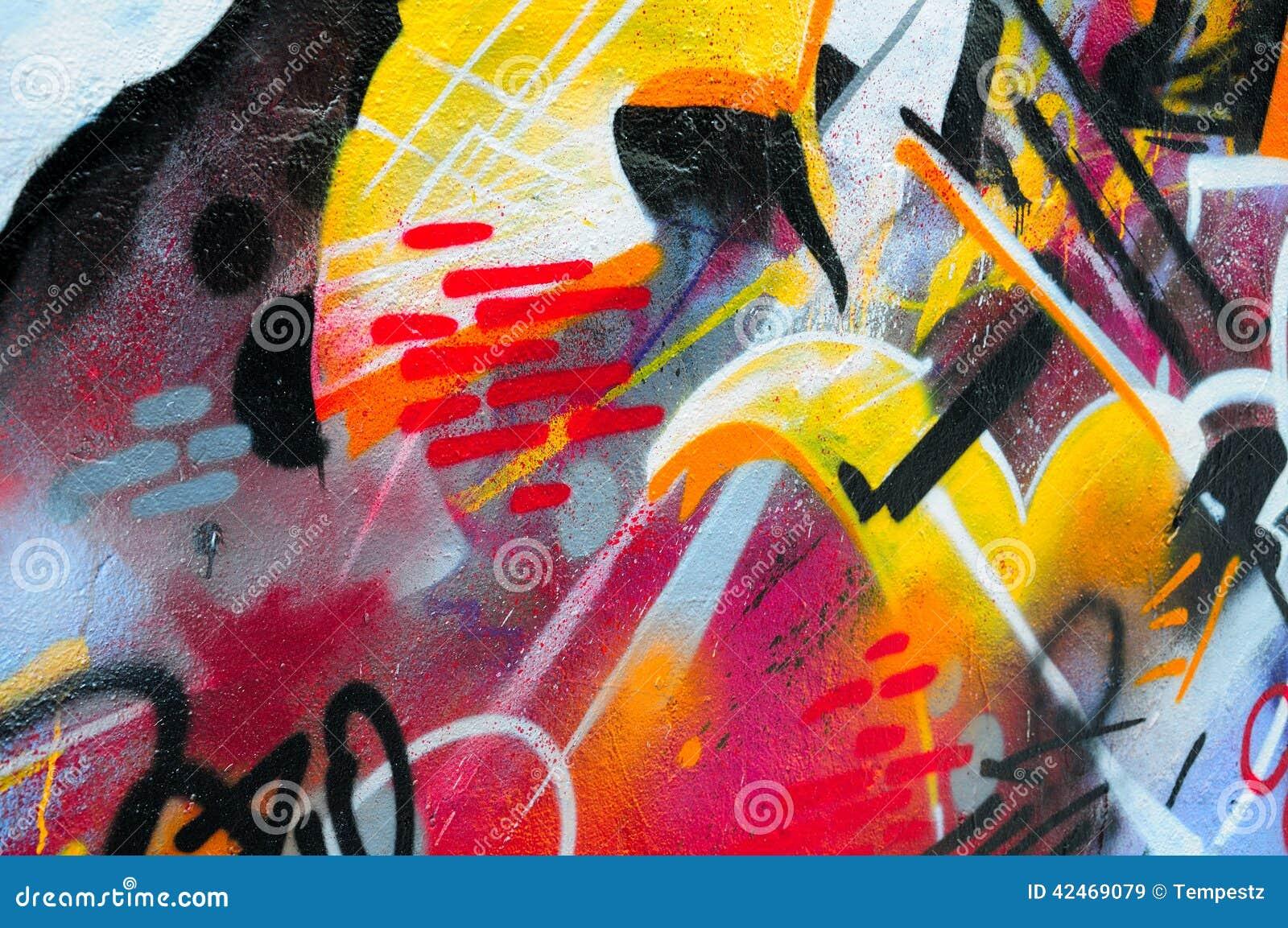 Grafittis da parede