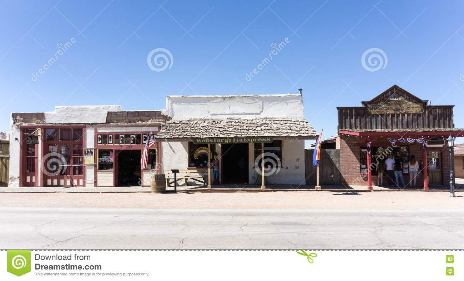 Grafsteen, Arizona