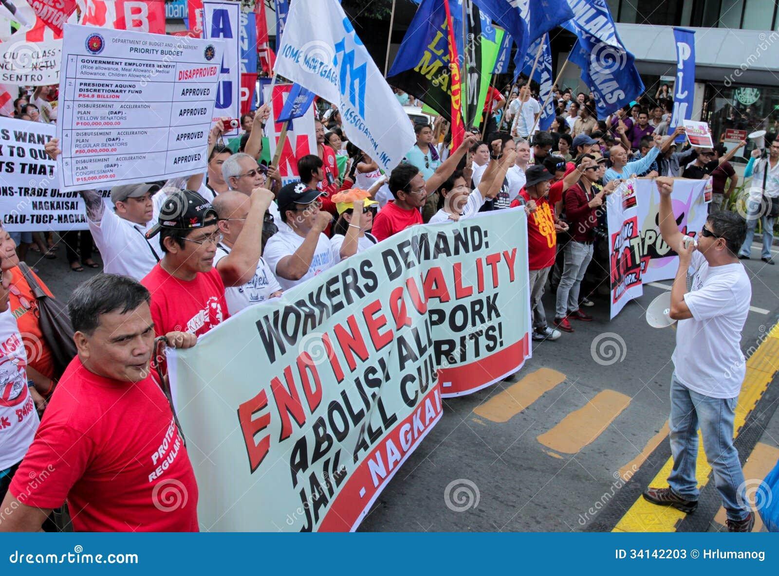 Graft and corruption protest in Manila, Philippines