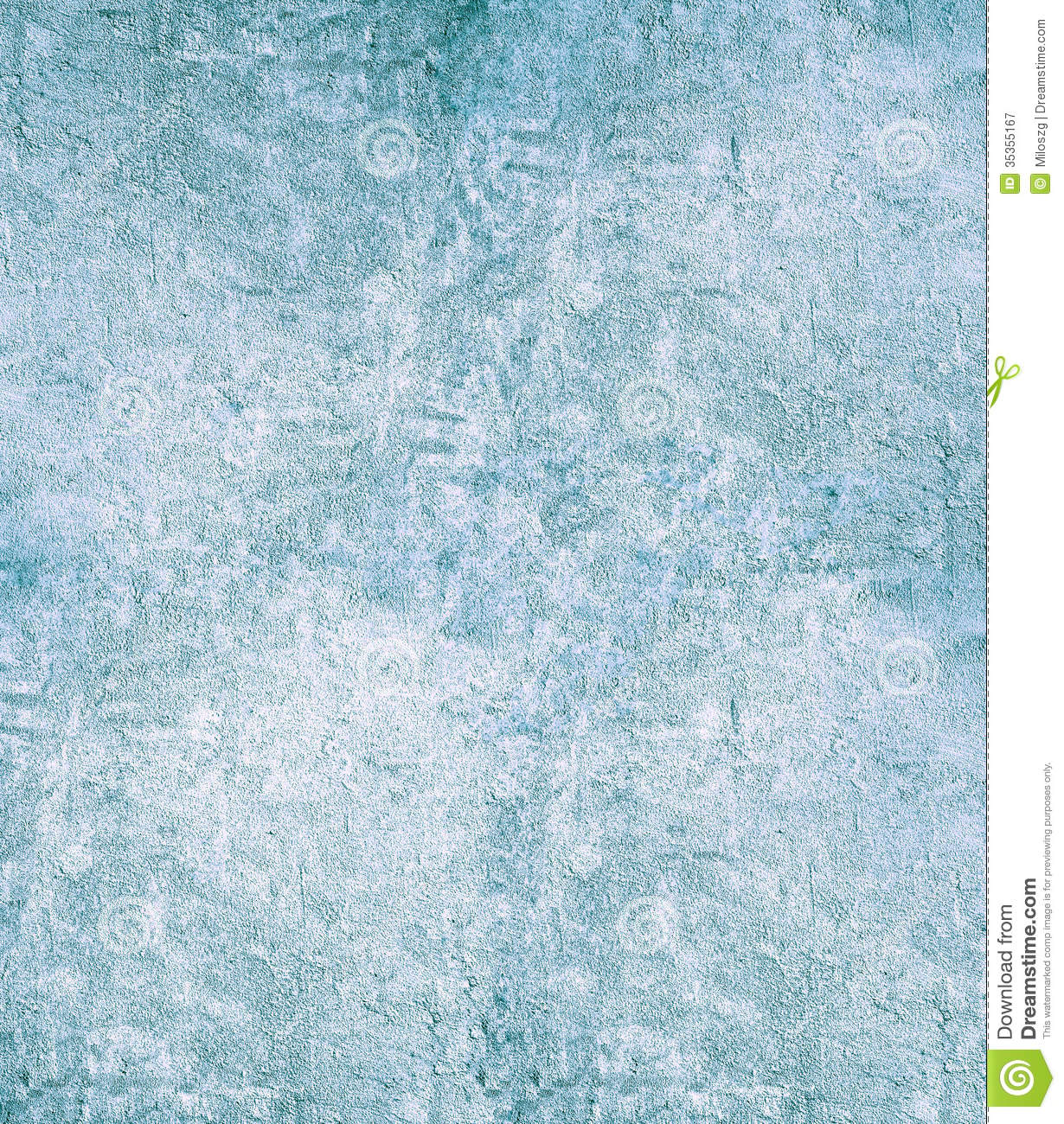 Grain Blue Paint Wall Background Or Texture Royalty Free
