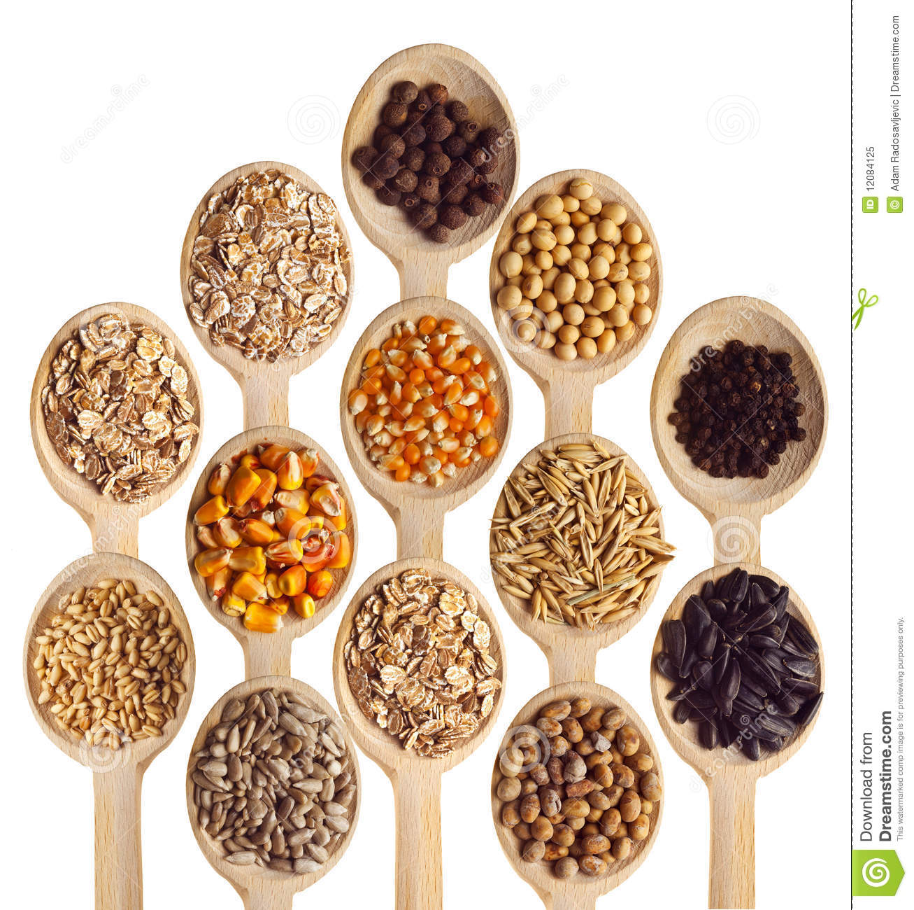 Grain And Cereal Products Stock Image. Image Of Ingredient