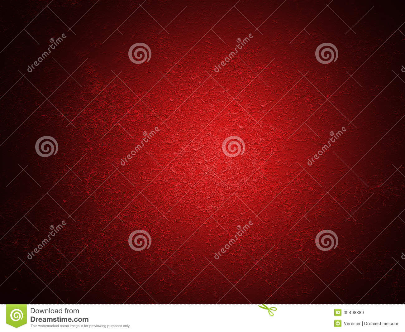 grain red paint wall background or texture stock photo - image