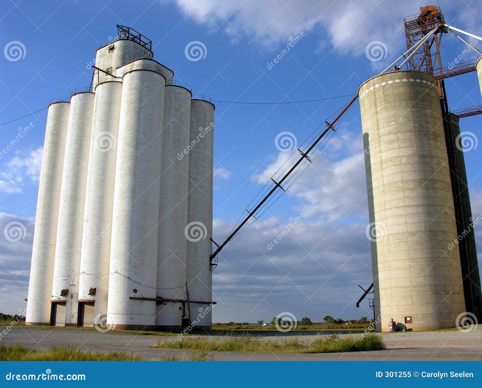 Grain Silos and Elevator