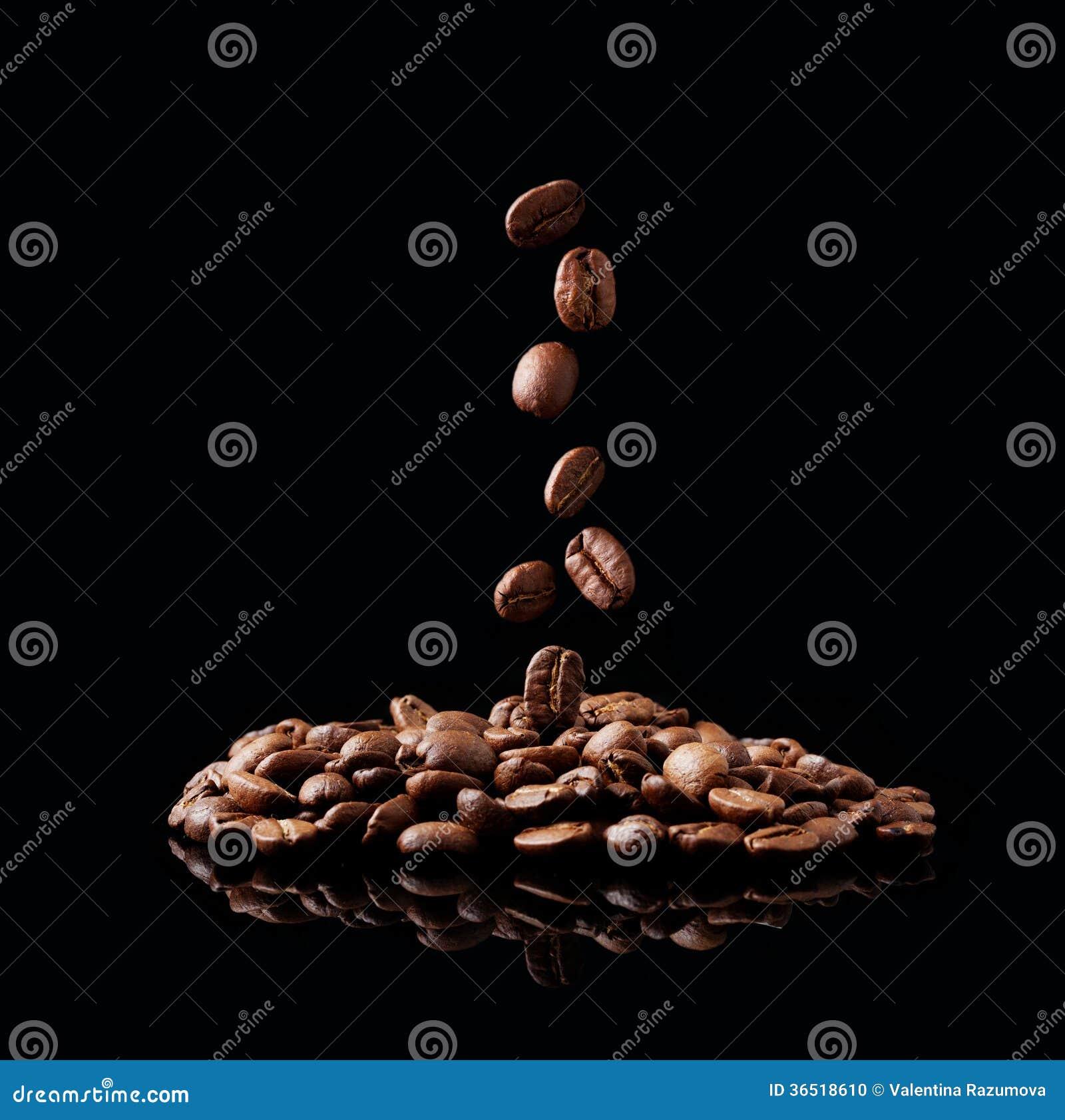 Graine de café en baisse