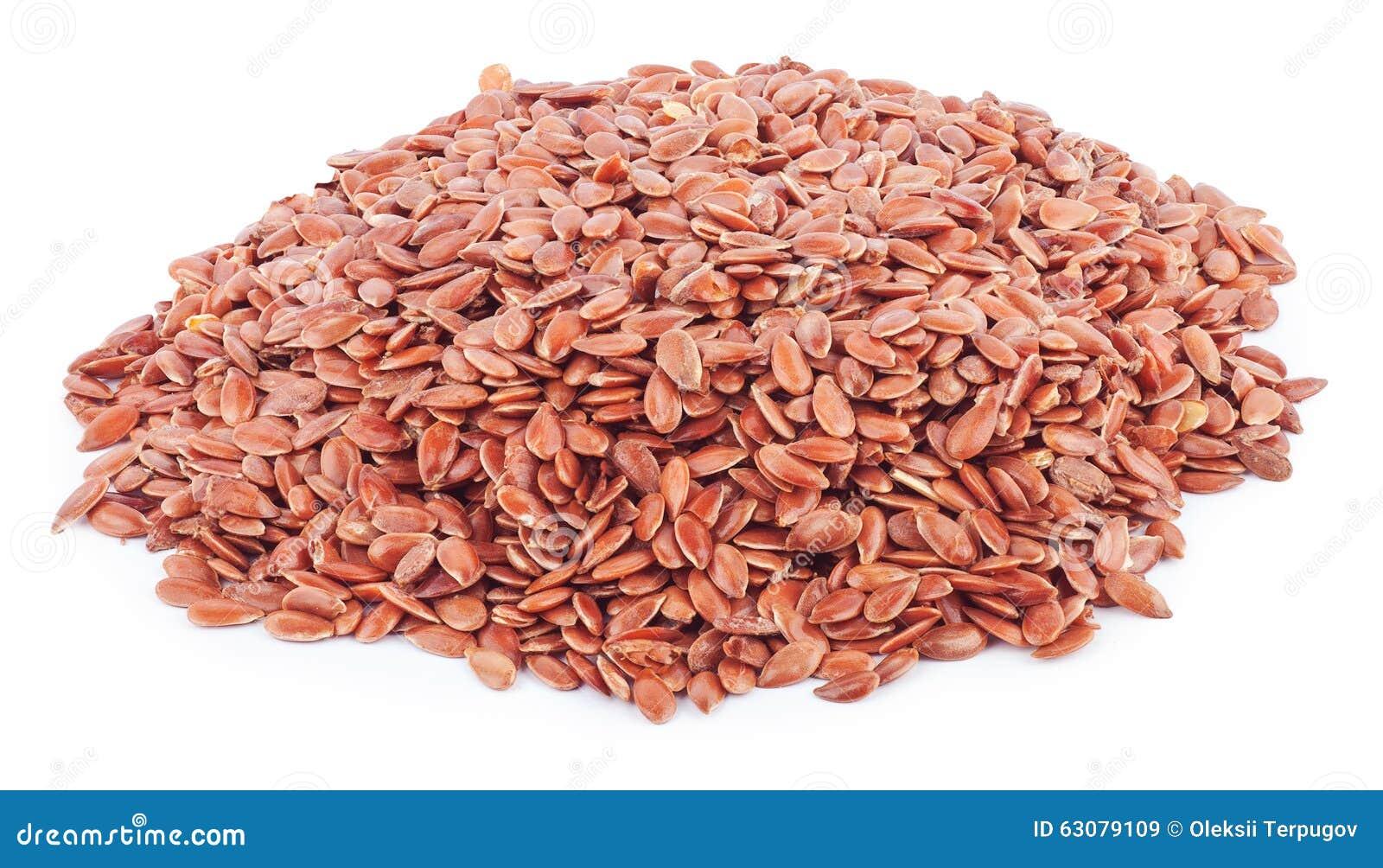 Download Graines d'isolat de lin image stock. Image du flaxseed - 63079109