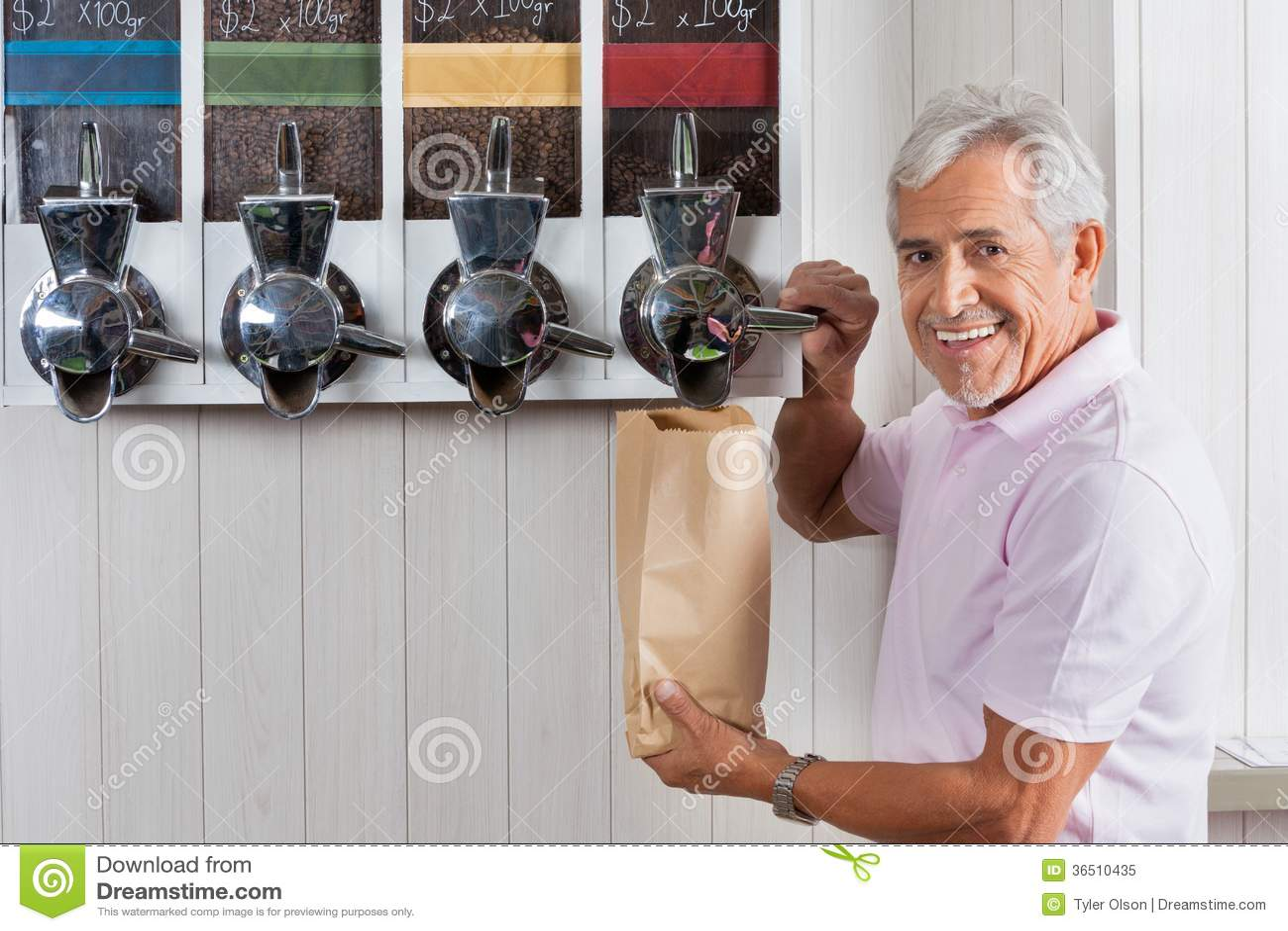 Grains de café de achat d homme supérieur de la vente