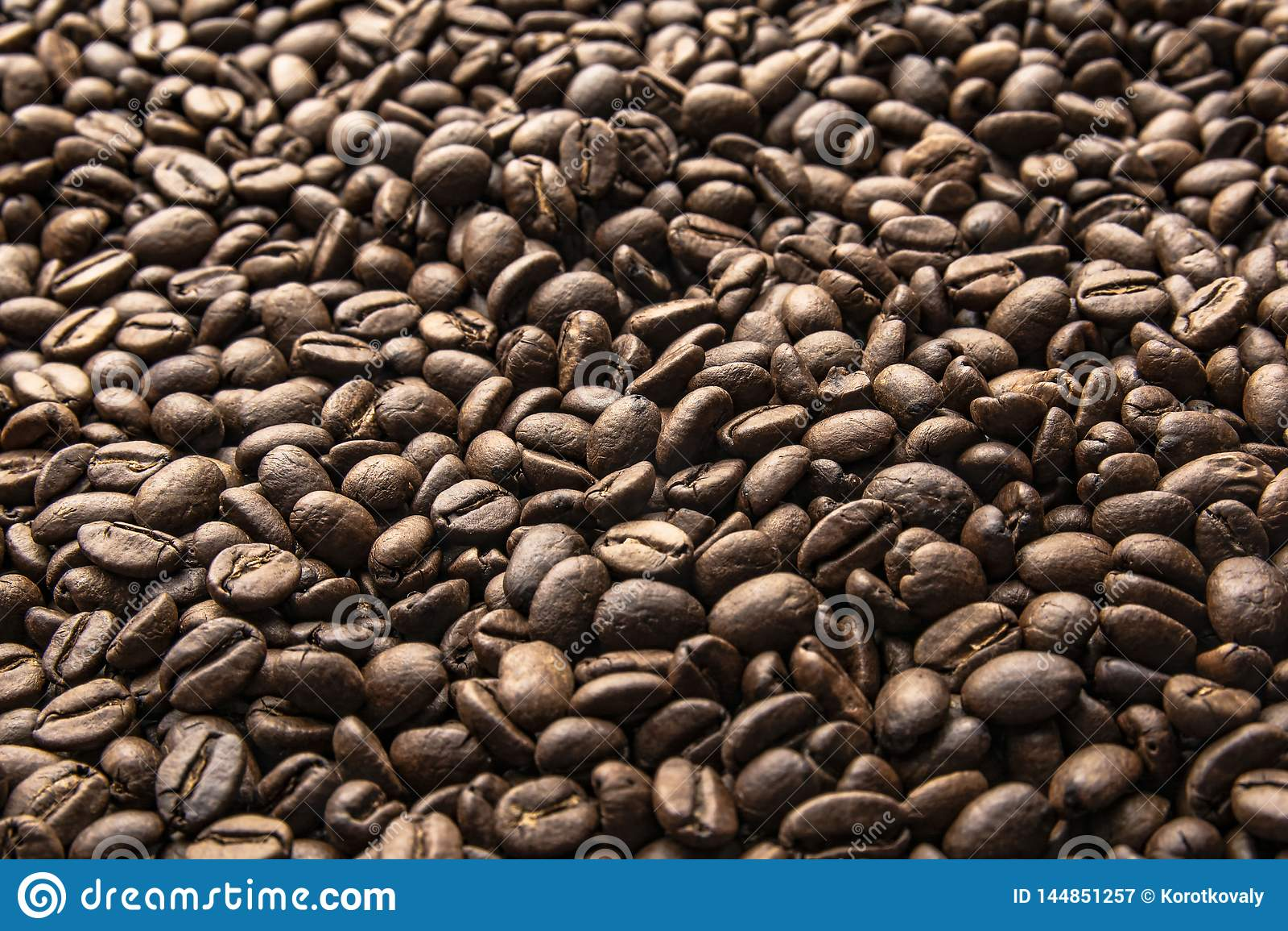 Grains de caf? Fond r?ti de grains de caf?