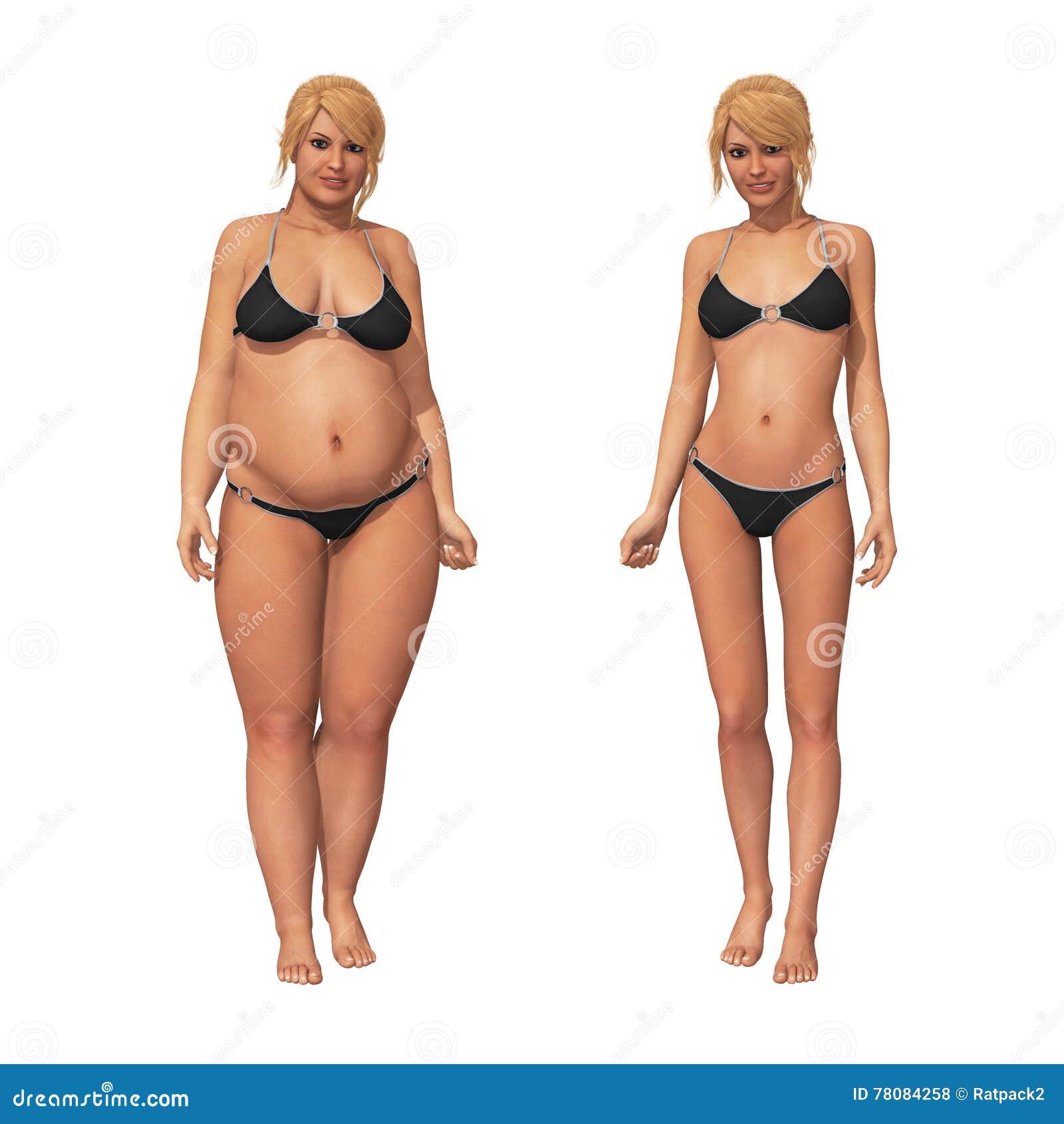 Femme libre de graisse de porno