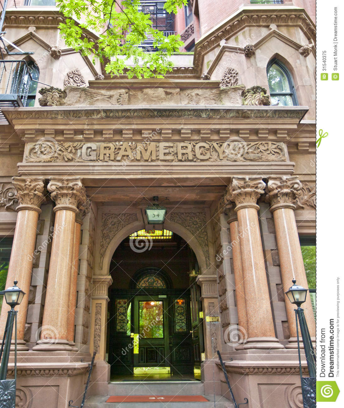 New York City Flats: Gramercy Editorial Image. Image Of Apartment, Famous