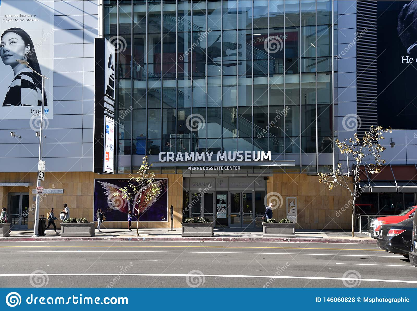 Grammy Museum in Los Angeles
