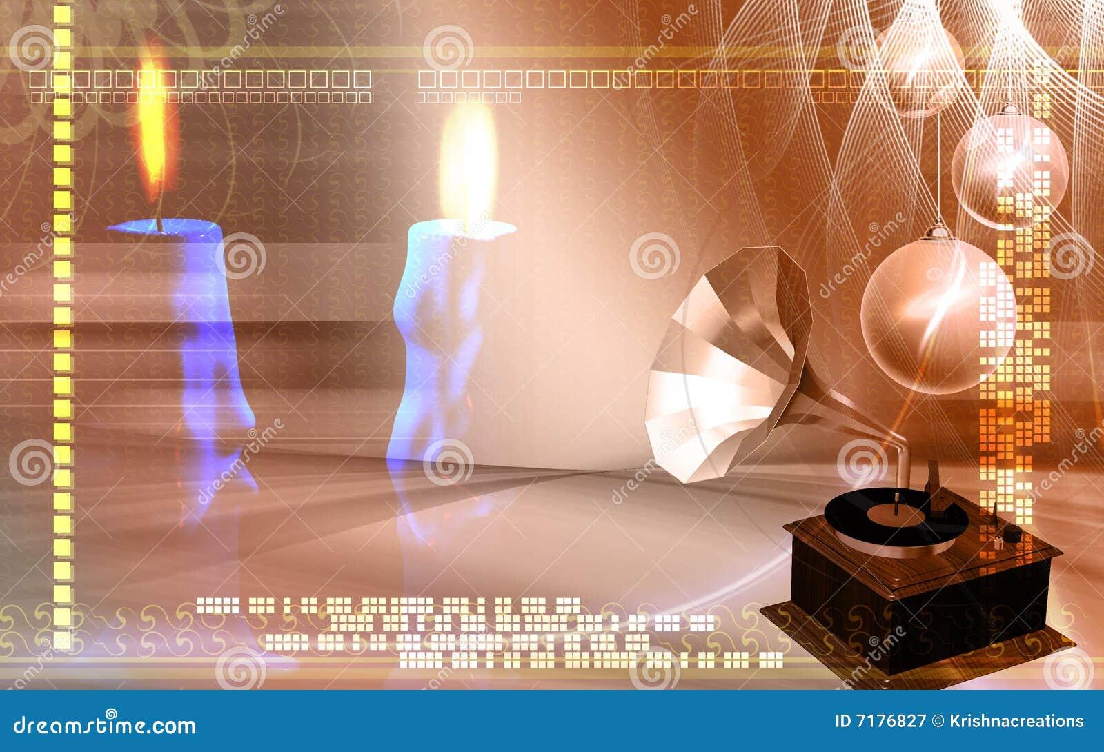 Gramophone κεριών