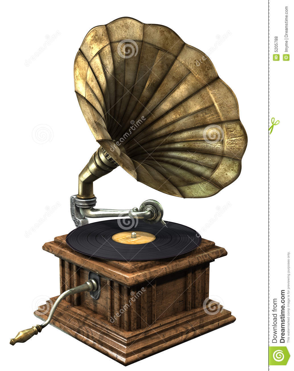 Gramophone Royalty Free Stock Photos - Image: 5205788