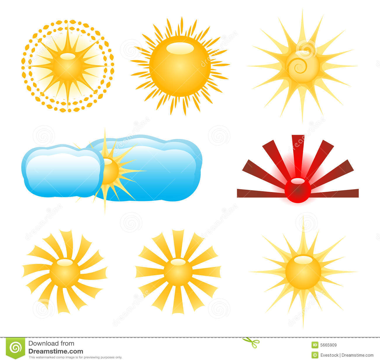Grampo-arte de Sun