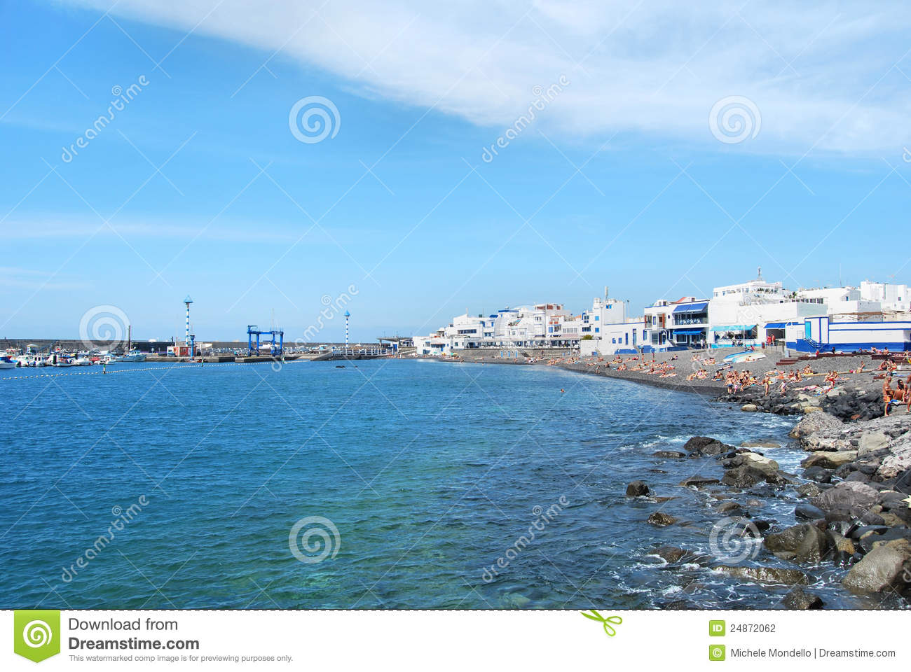 Gran Canaria Spain  city images : ... of the smal village of Puerto de las Nieves in gran Canaria, Spain