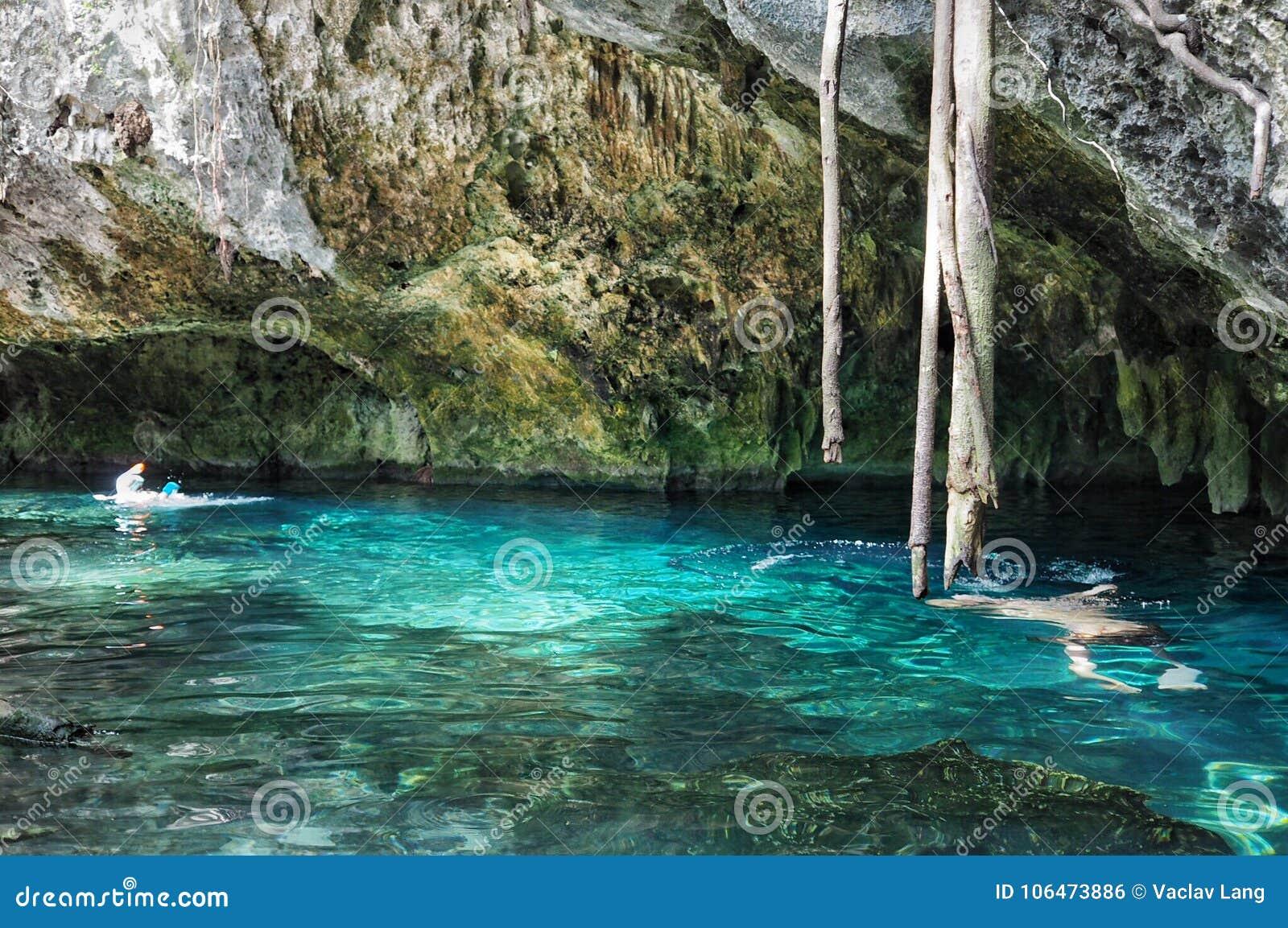 Gran Cenote in Yucatan, Mexico