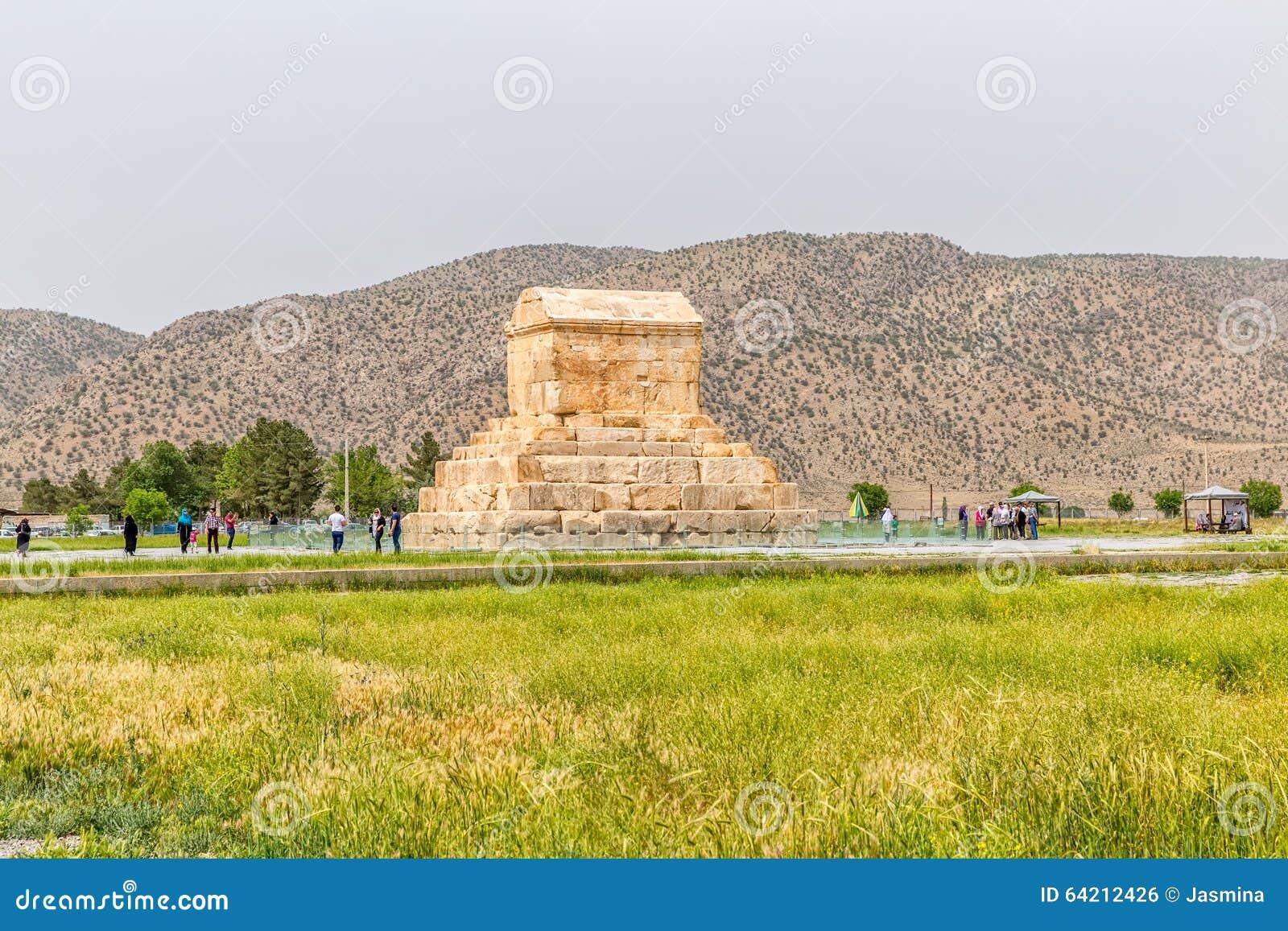 Gran Cyrus tumba de Pasargad