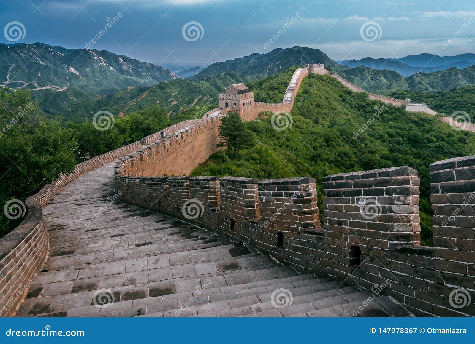 Gran Muralla en el condado de Yanqing