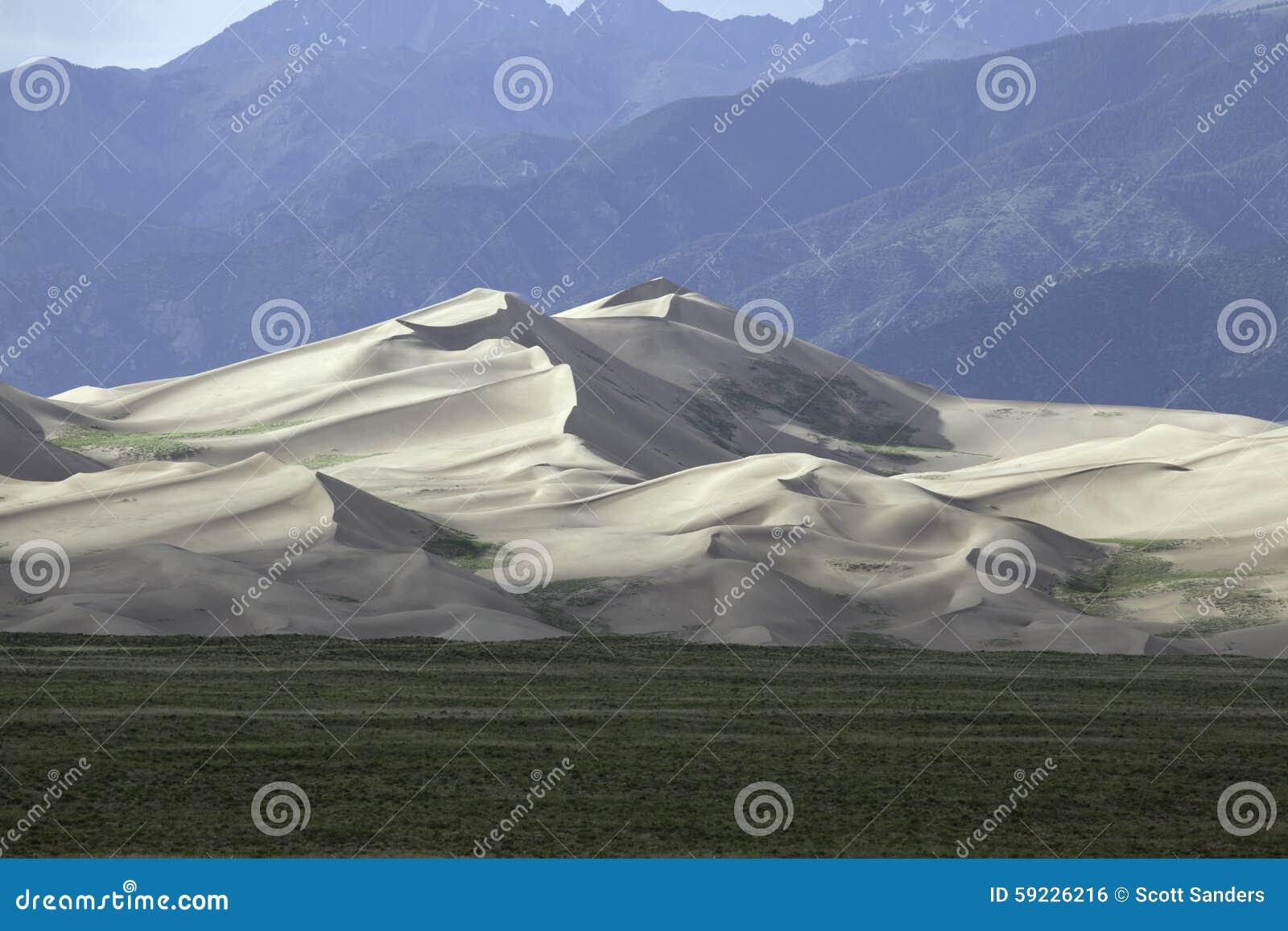Download Gran Parque Nacional De Las Dunas De Arena Foto de archivo - Imagen de dunas, cubo: 59226216