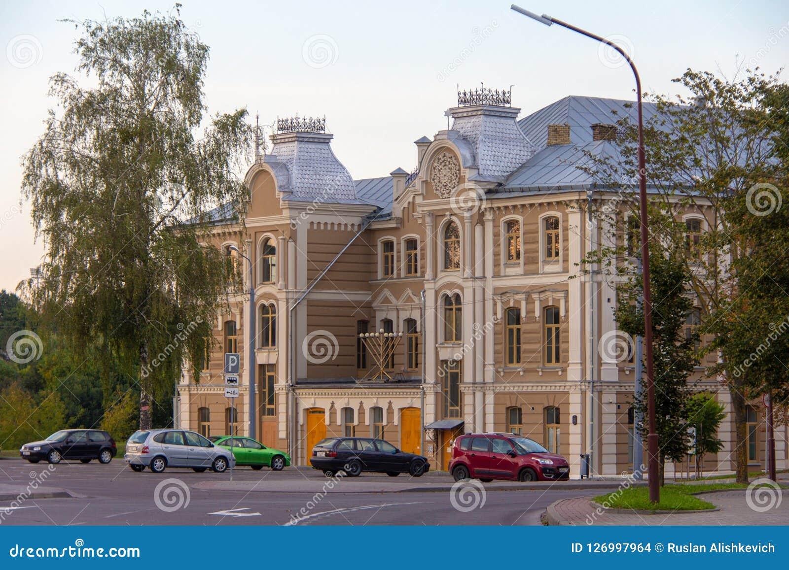 Gran sinagoga coral Grodno