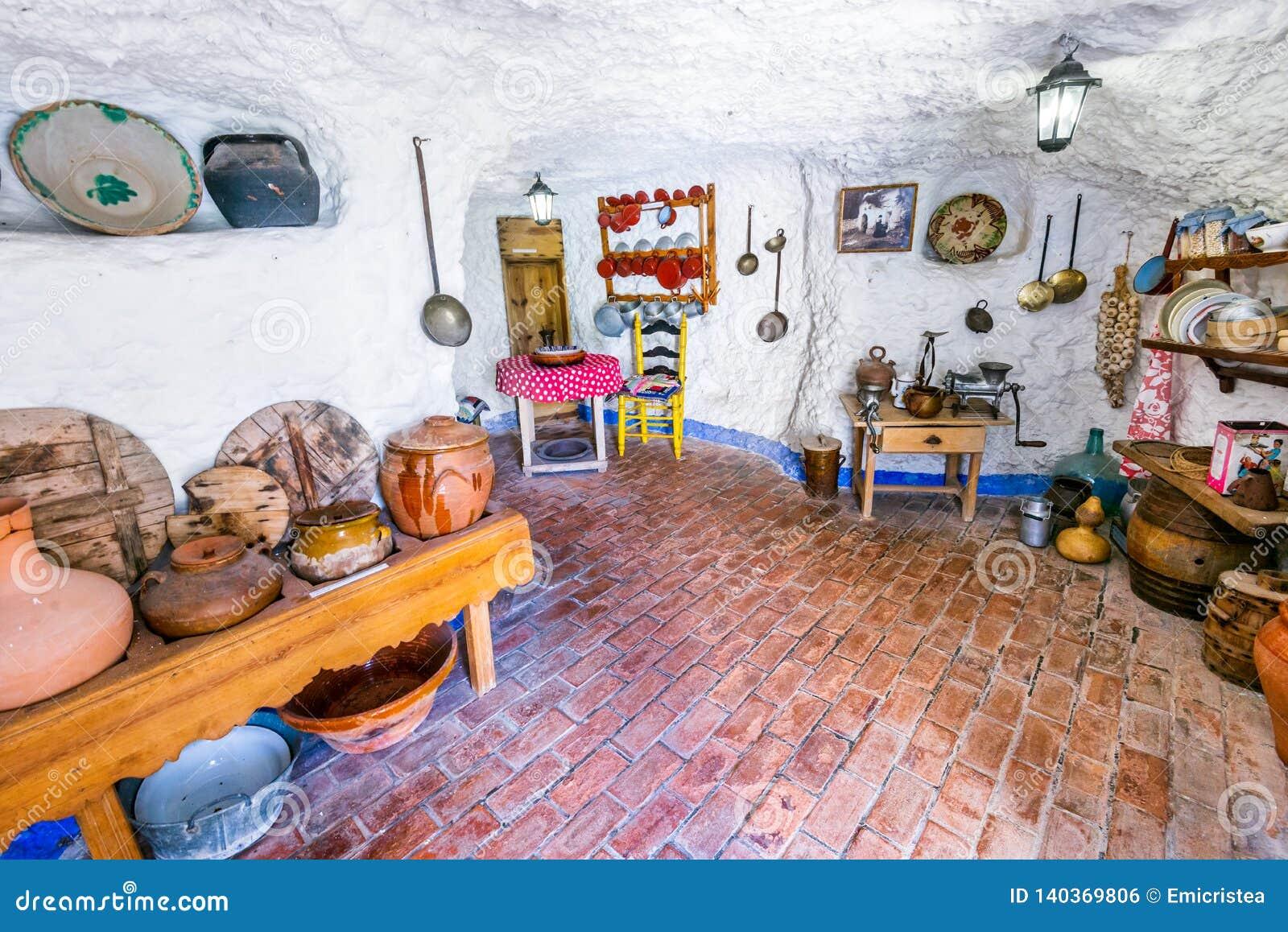 Granada, Andalusia, Spain - Sacromonte Editorial Photo