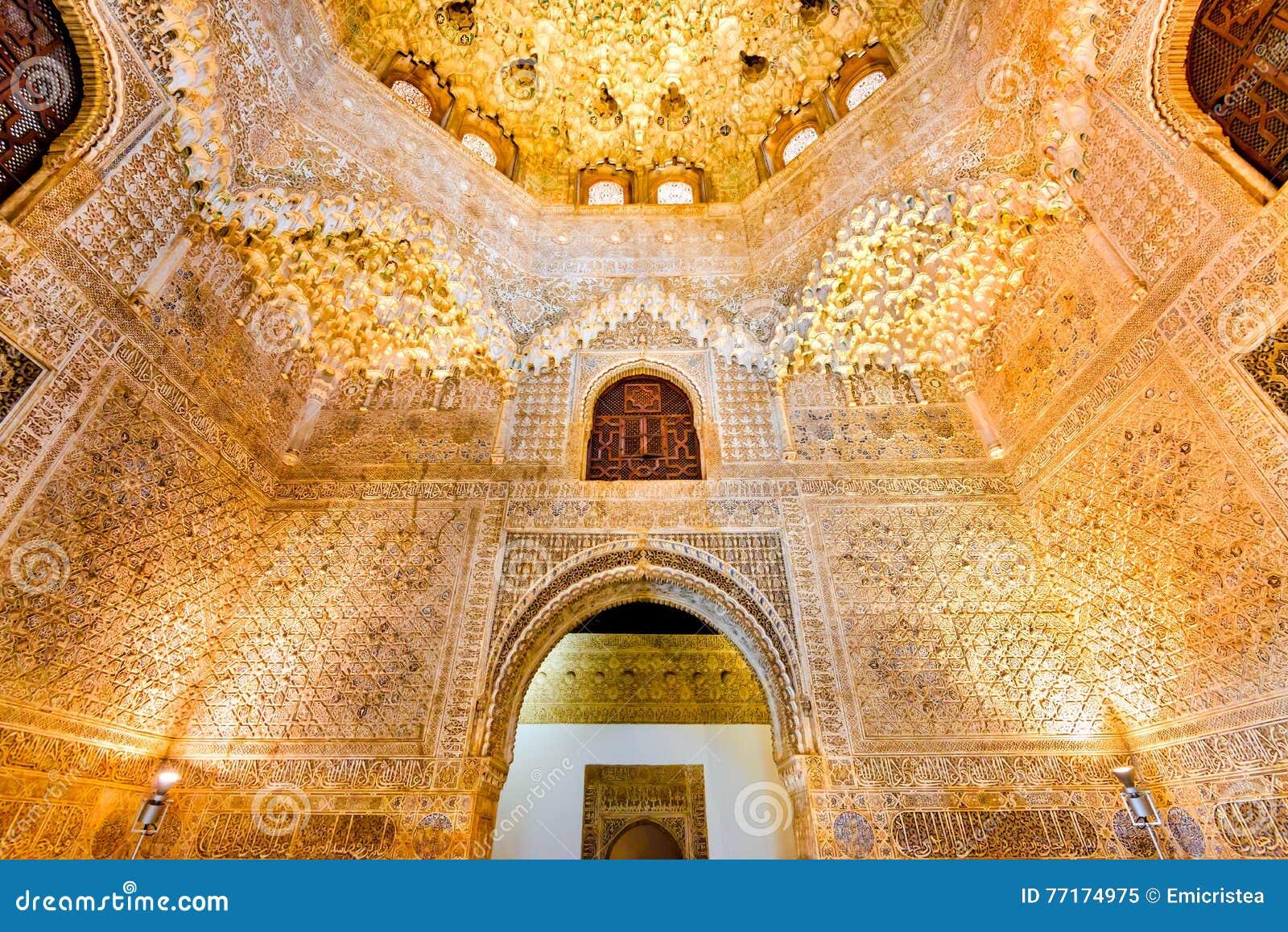 Granada, Andalusia, Spanje - Alhambra Palace