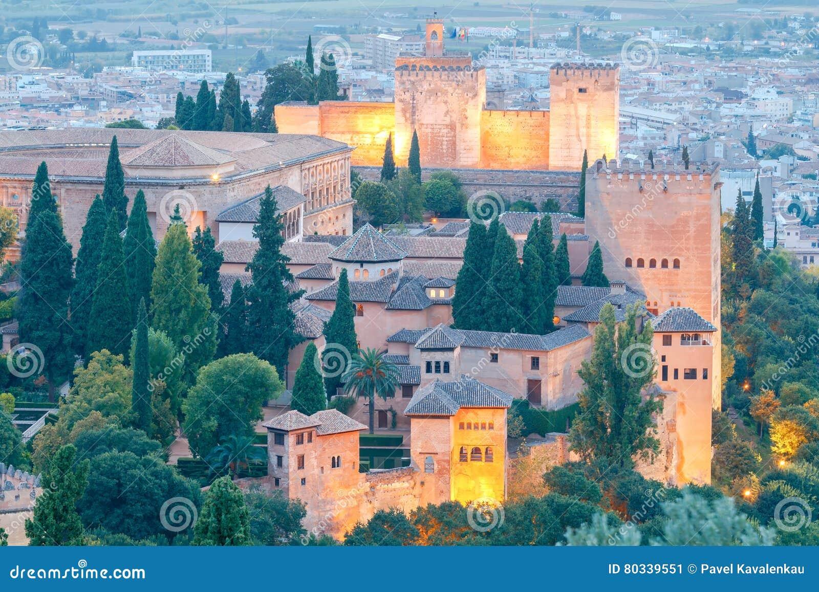 Granada Der Festungs- und Palastkomplex Alhambra