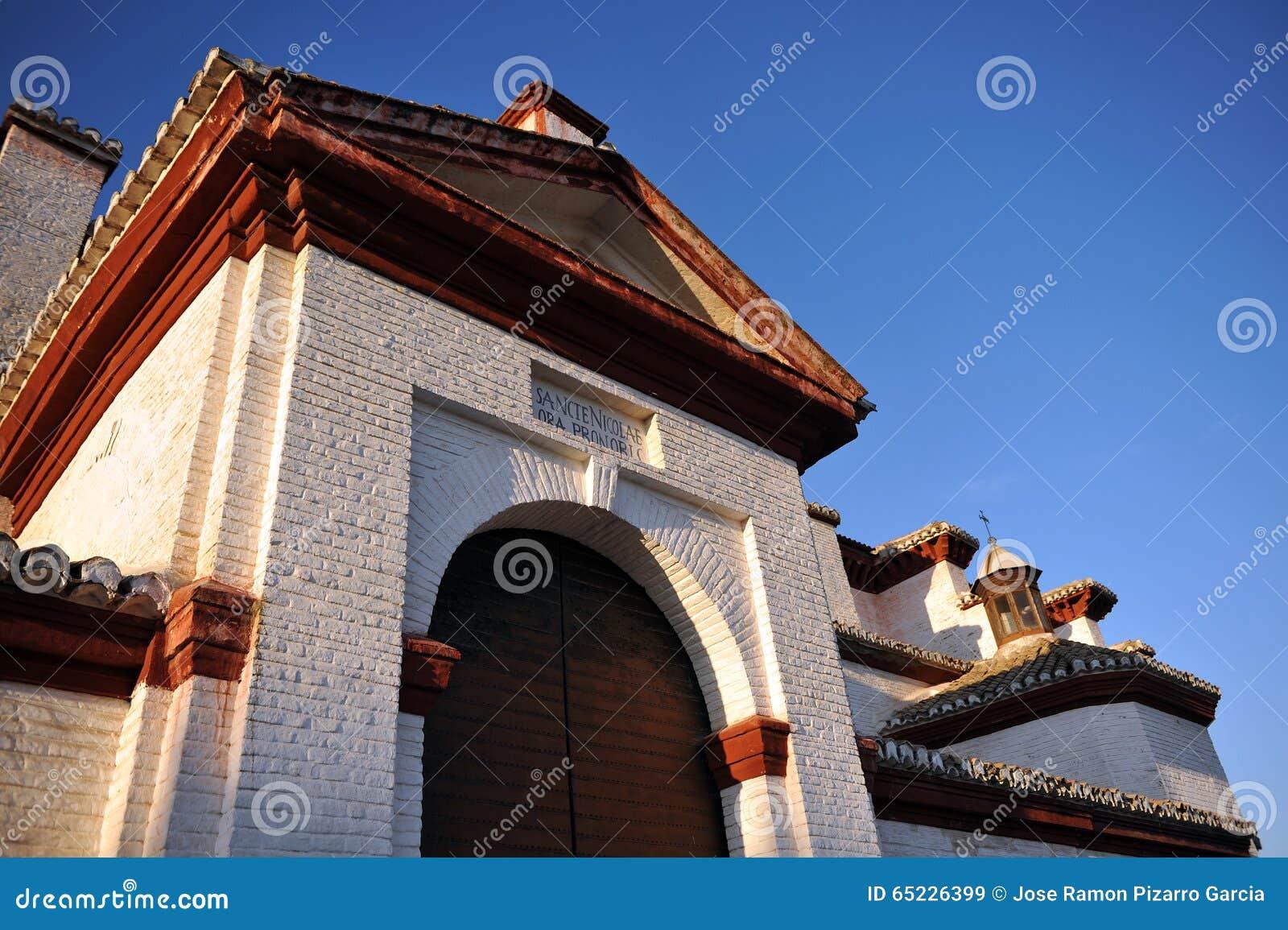 Granada kościelny nicol s San Spain