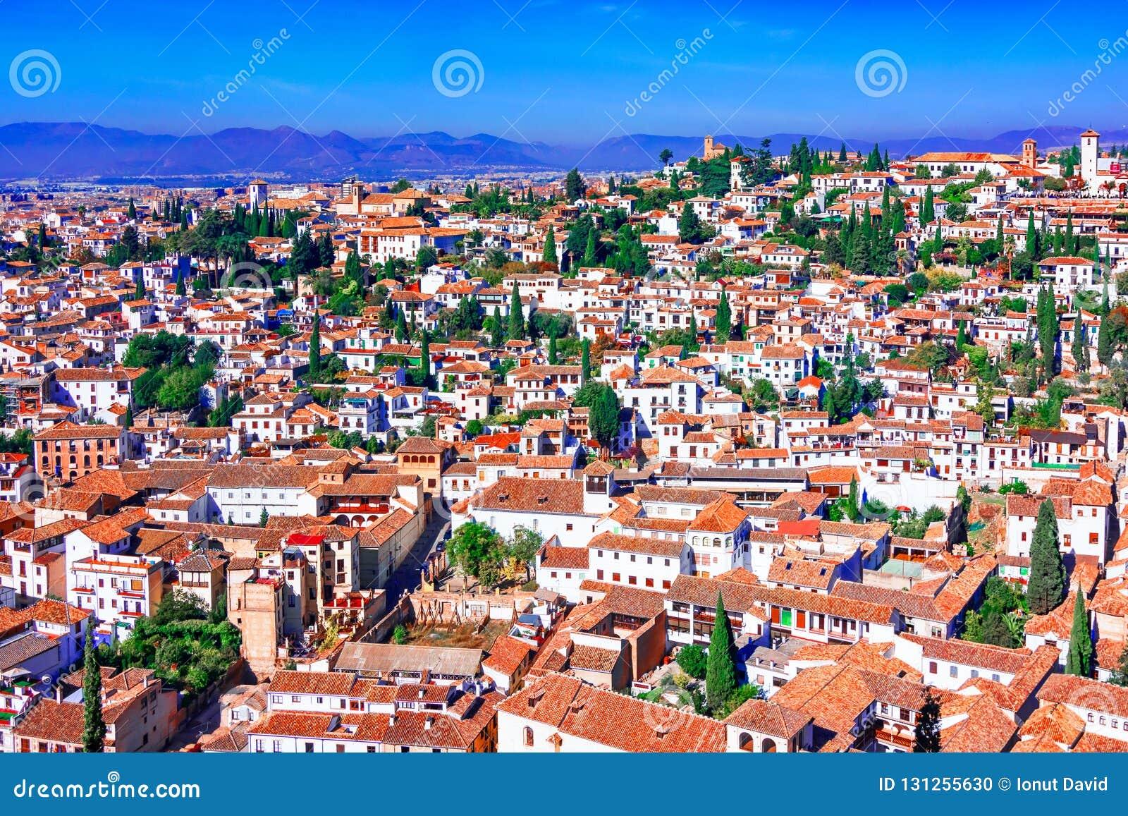 Granada, Spain: Albaicin Moorish Medieval Quarter, Traditional