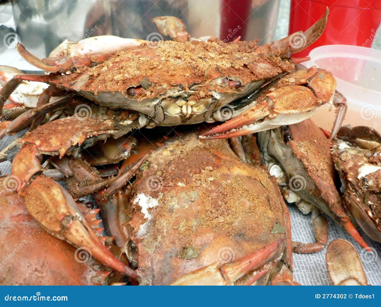 Granchio - granchi nuotatori cucinati
