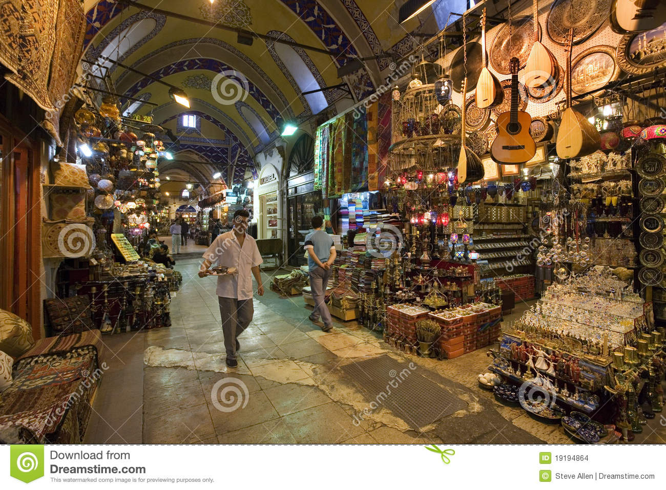 Grand Bazaar Istanbul Turkey Editorial Stock Image