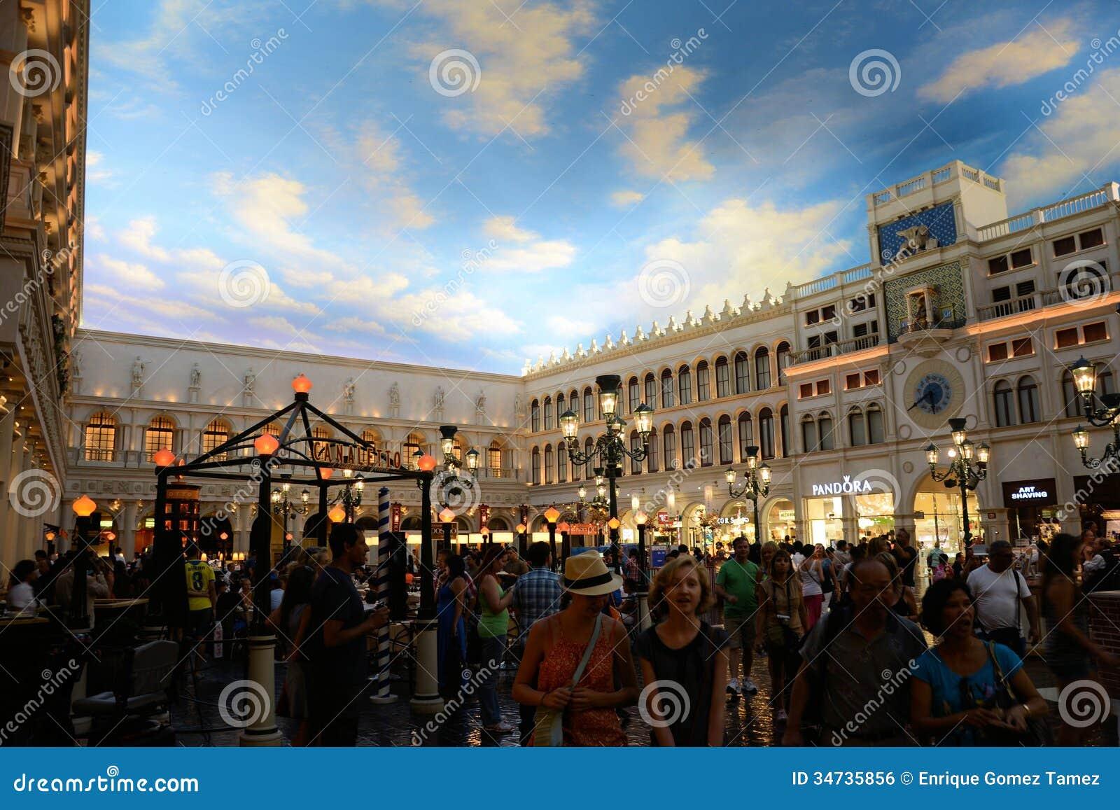 Grand Canal Shoppes at Venetian Hotel Las Vegas