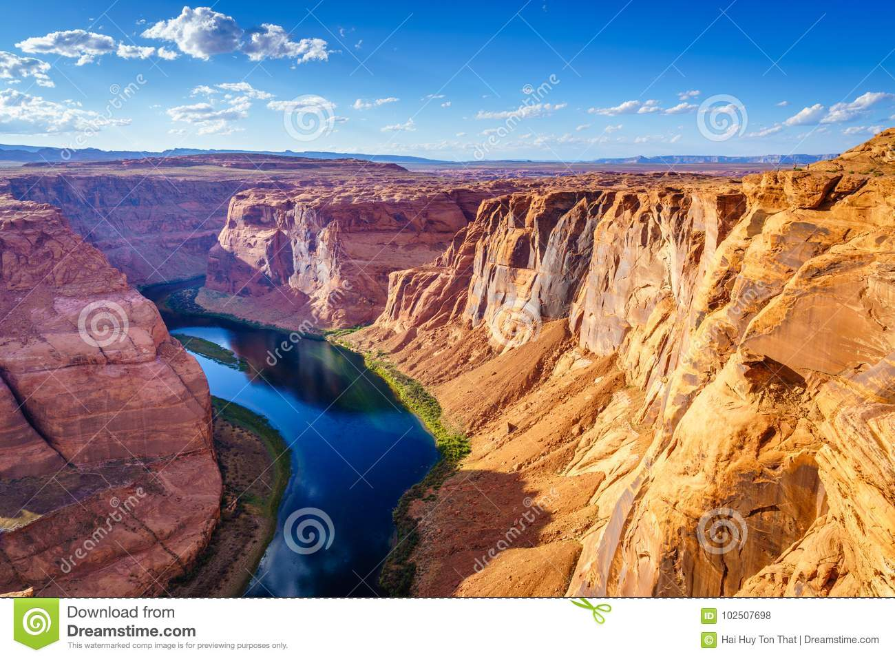 Grand Canyon with Colorado River, Located in Page, Arizona, USA