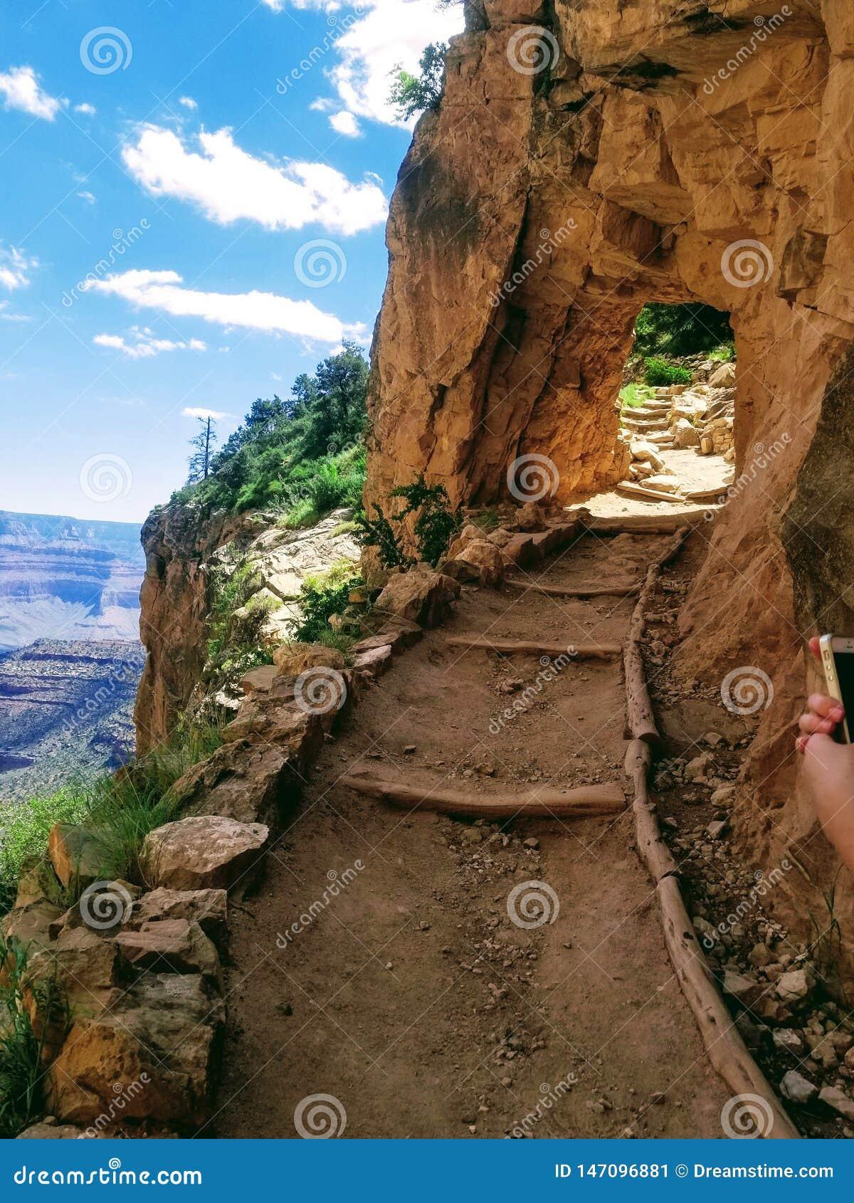 Grand Canyon de exploraci?n Arizona los E.E.U.U.