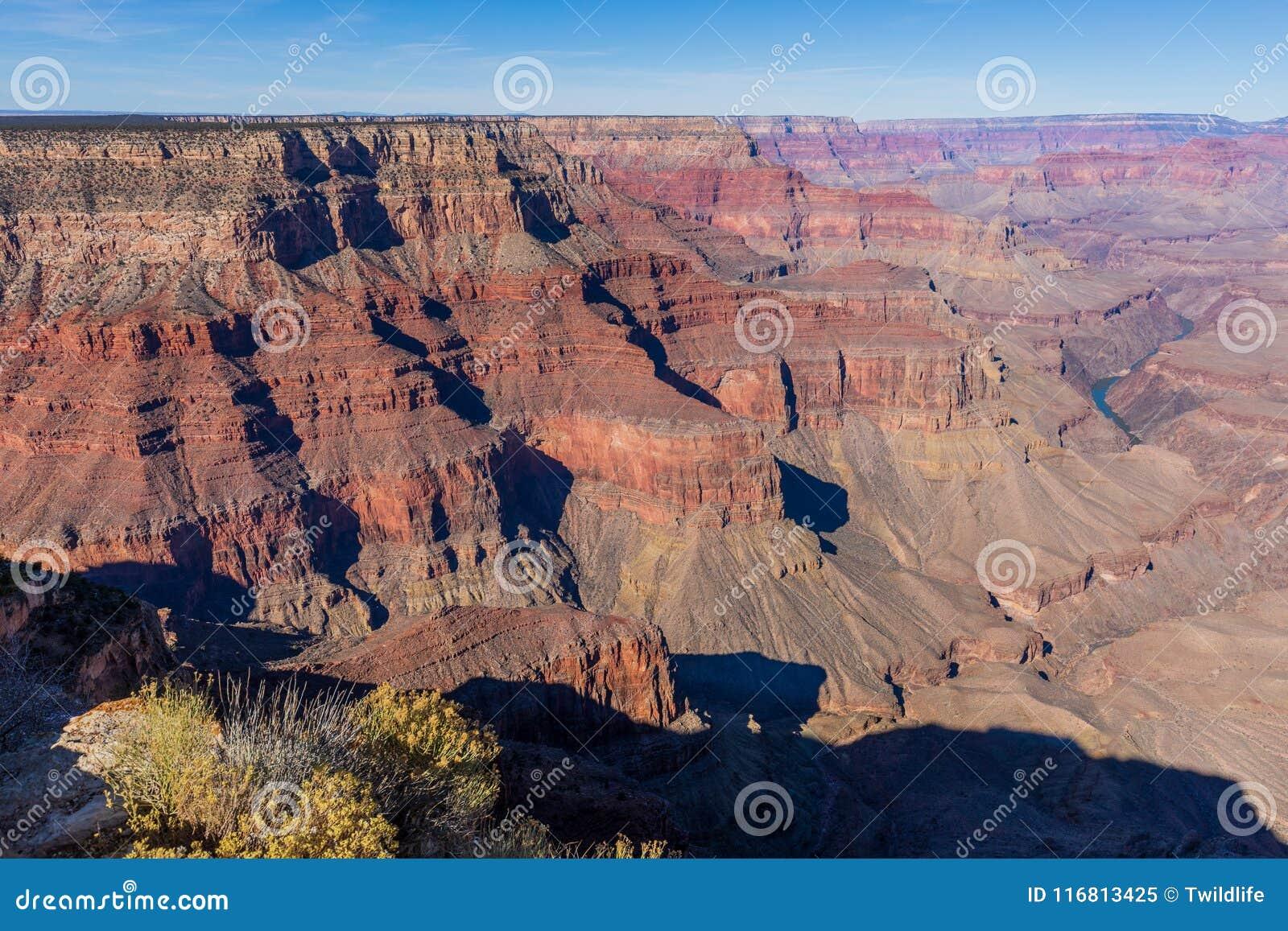 Grand Canyon irregolare Rim Scenic del sud