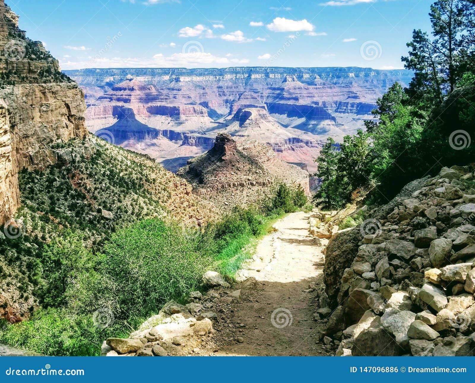 Grand Canyon l explorant Arizona Etats-Unis