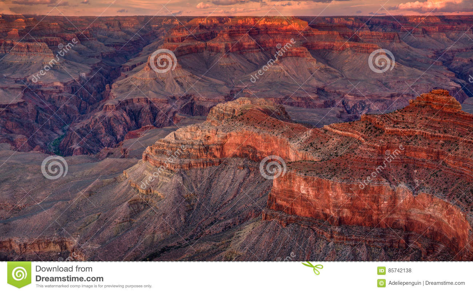 Grand Canyon National Park, Sunset, Arizona