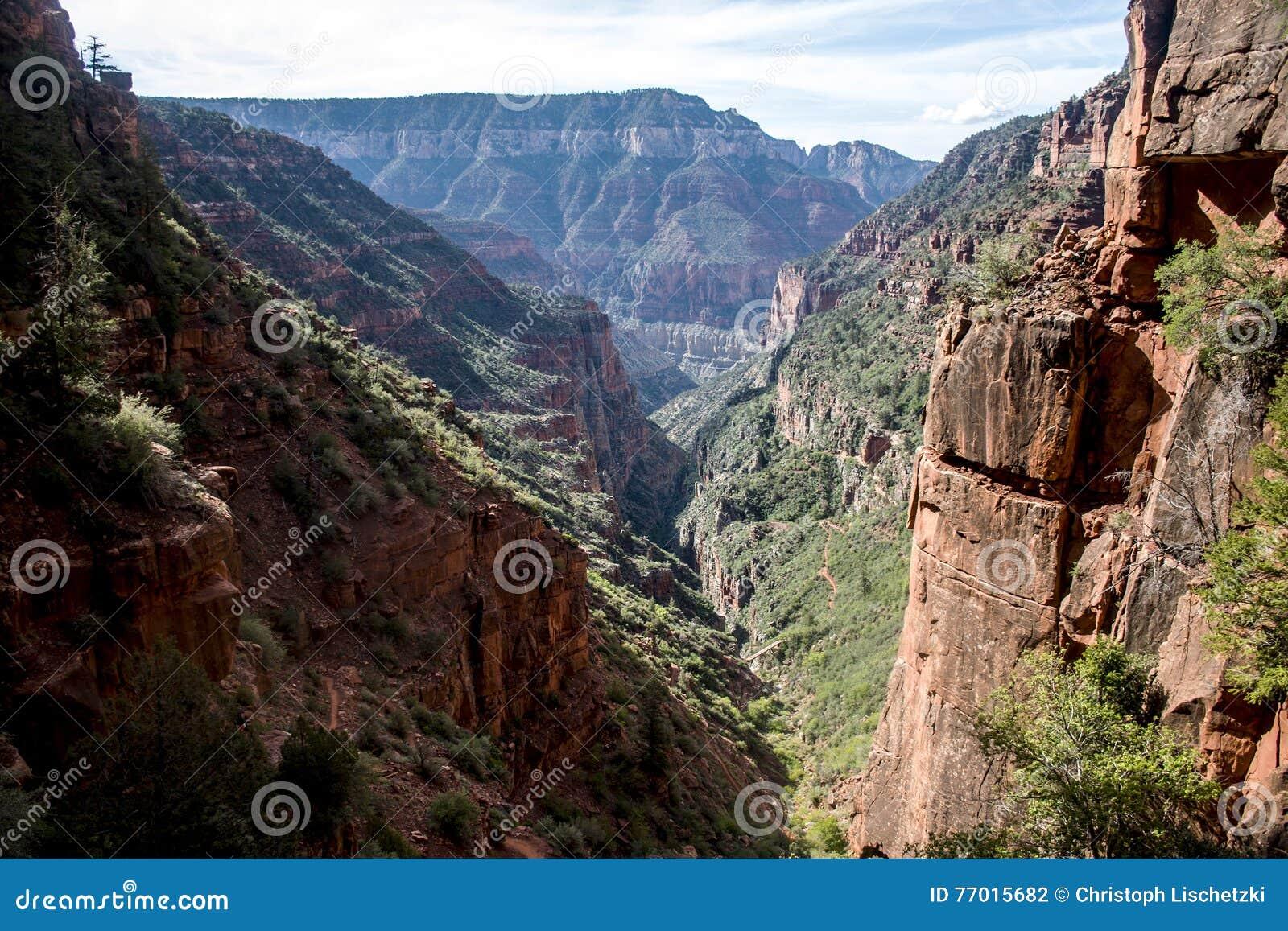 Grand Canyon National Park Usa North Rim 5 Stock Photo