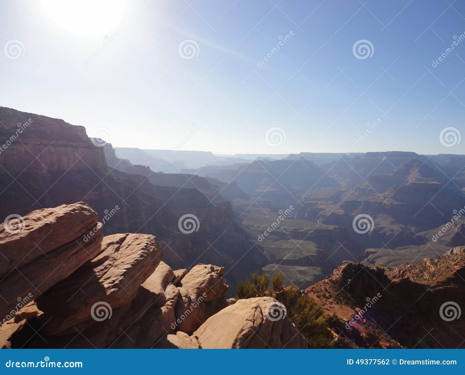 Grand Canyon nordliga Sun