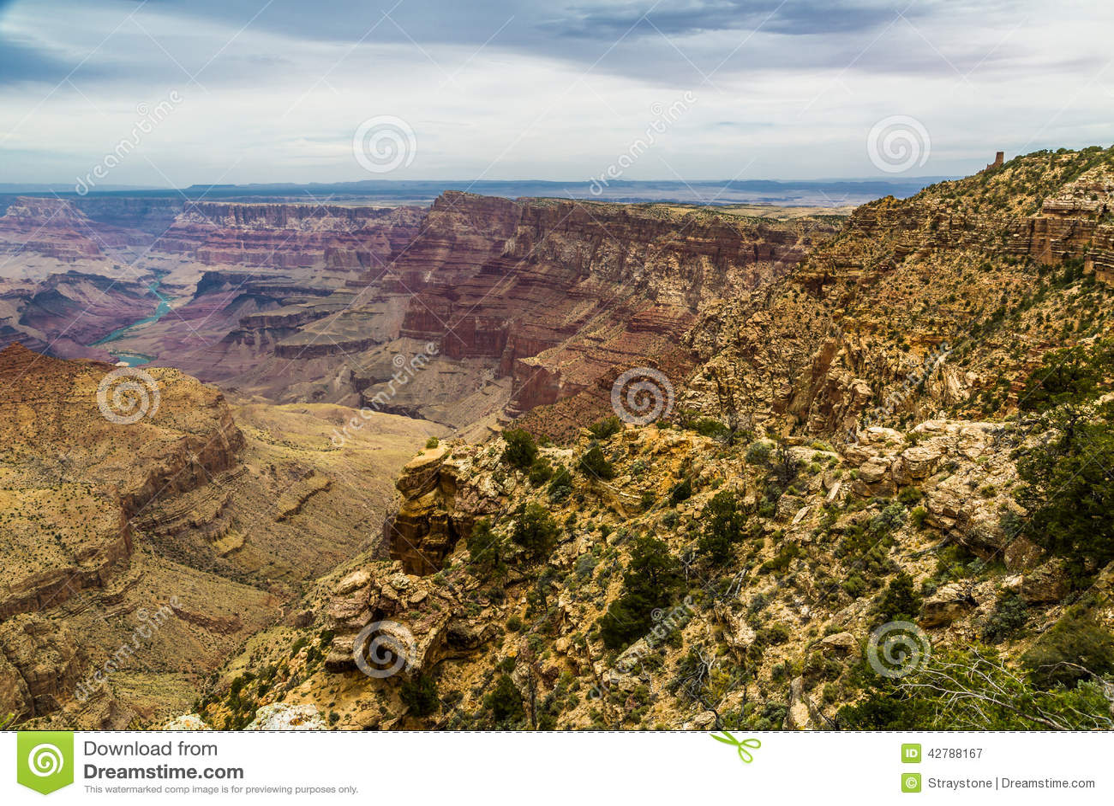 Grand Canyon norr kantsikt